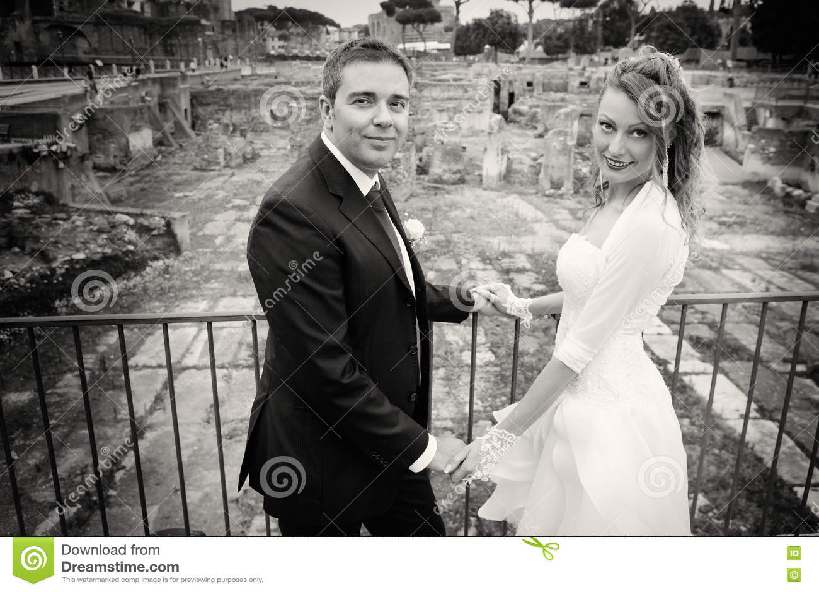 Marito e moglie Matrimonio delle coppie newlyweds Rebecca 36