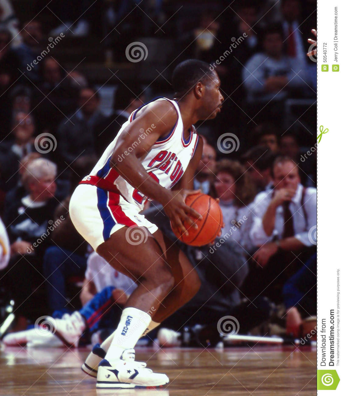 Mark Aguirre Detroit Pistons Editorial graphy Image