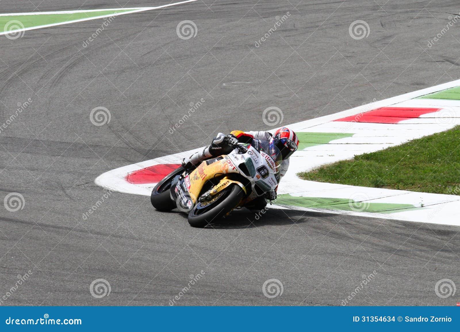Mark Aitchison #8 on Ducati 1098R Team Effenbert Liberty Racing Superbike WSBK