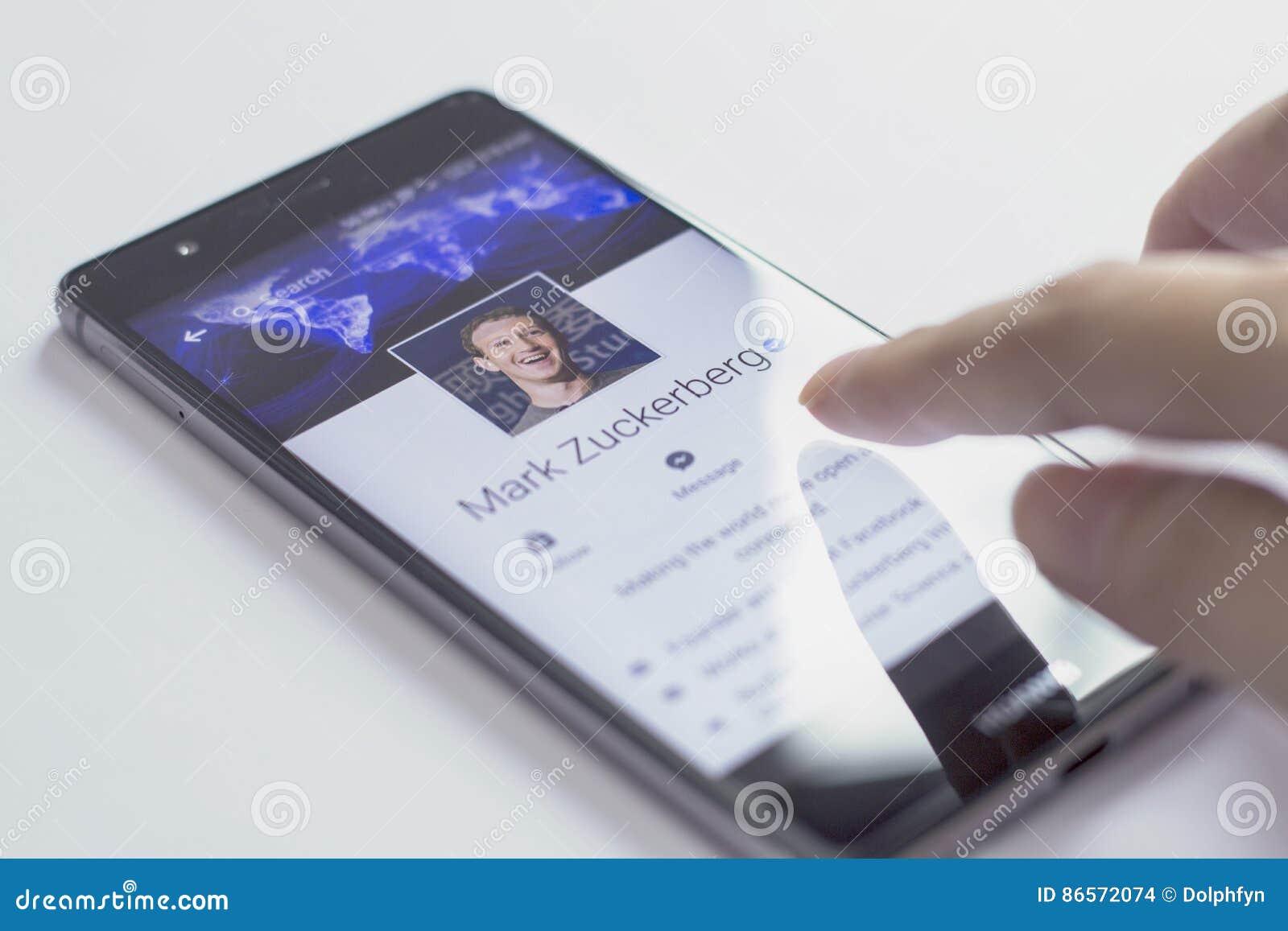 Mark Zuckerberg è il fondatore e CEO di Facebook
