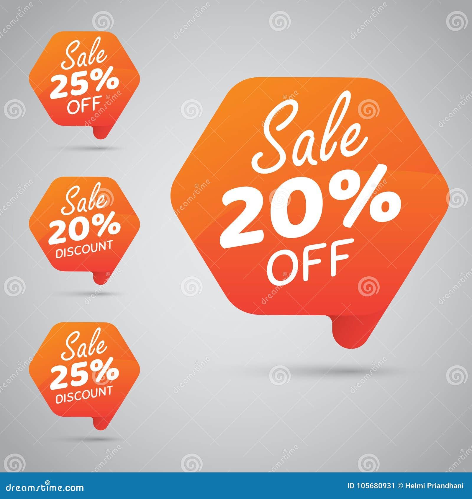 Markering voor Marketing Kleinhandelselementenontwerp 20  25  Verkoop, Schijf, weg op Vrolijke Sinaasappel
