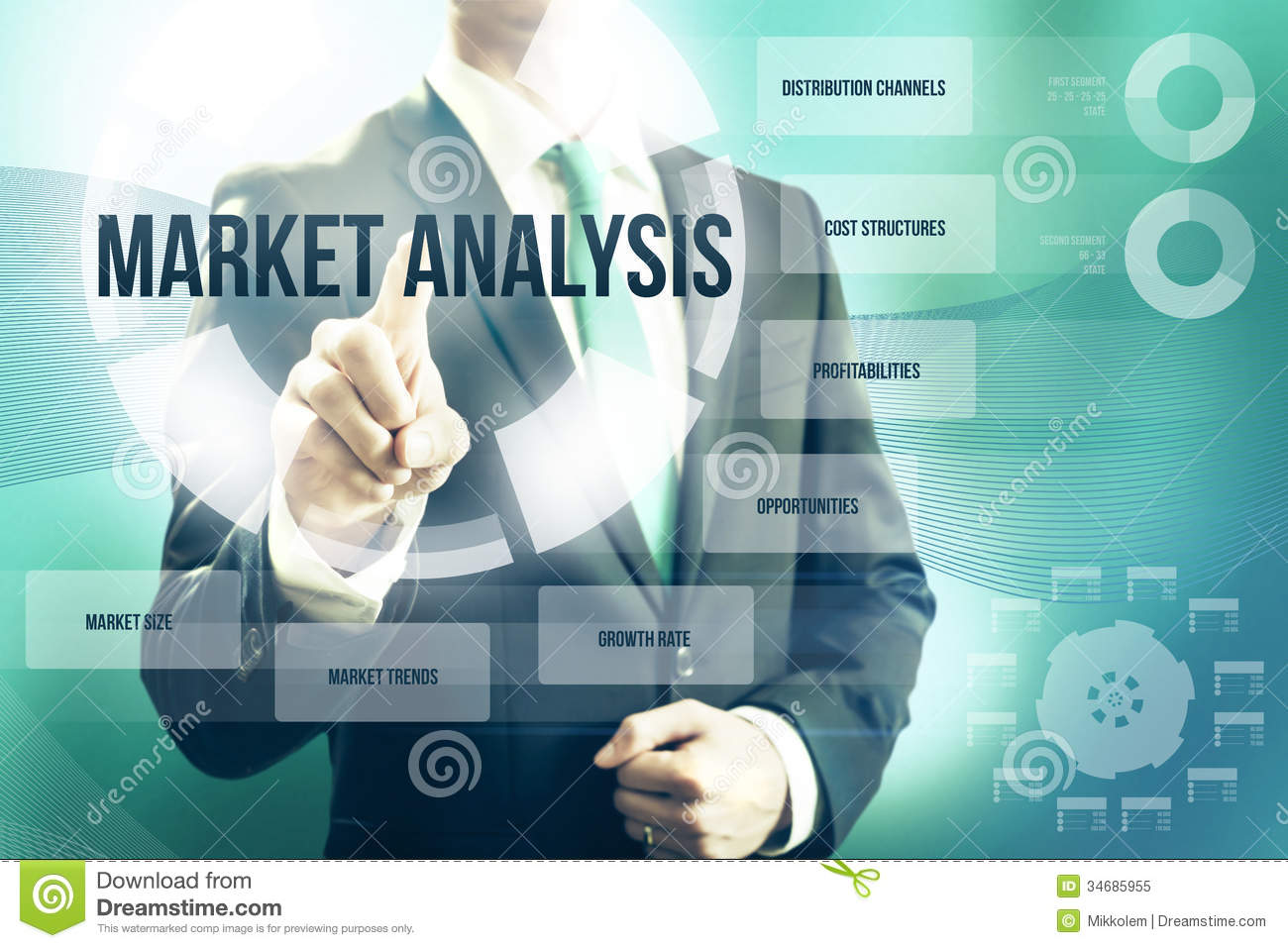 Royalty Free Stock Photo. Download Market Analysis ...