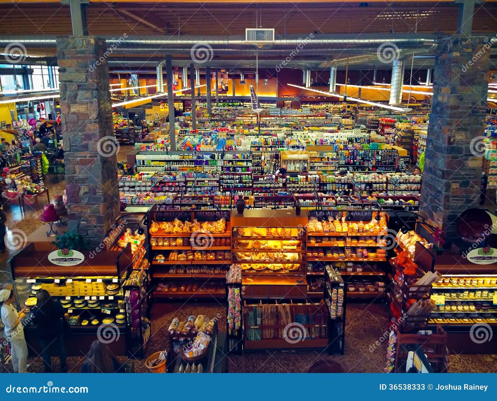 Market Of Choice Interior Eugene, OR Editorial Stock Photo - Image: 36538333