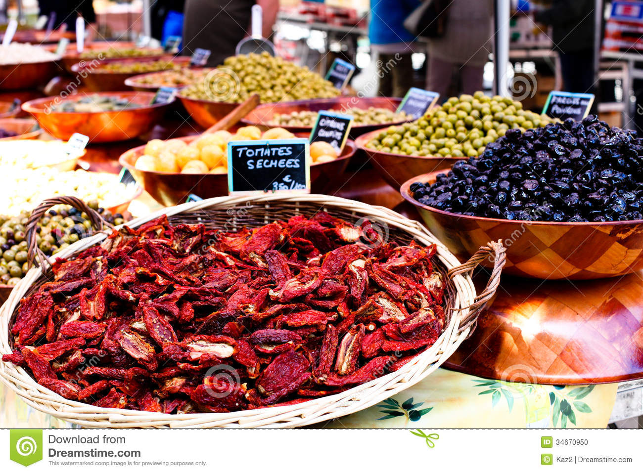 Market place stock photo image 34670950 for Cuisine francaise