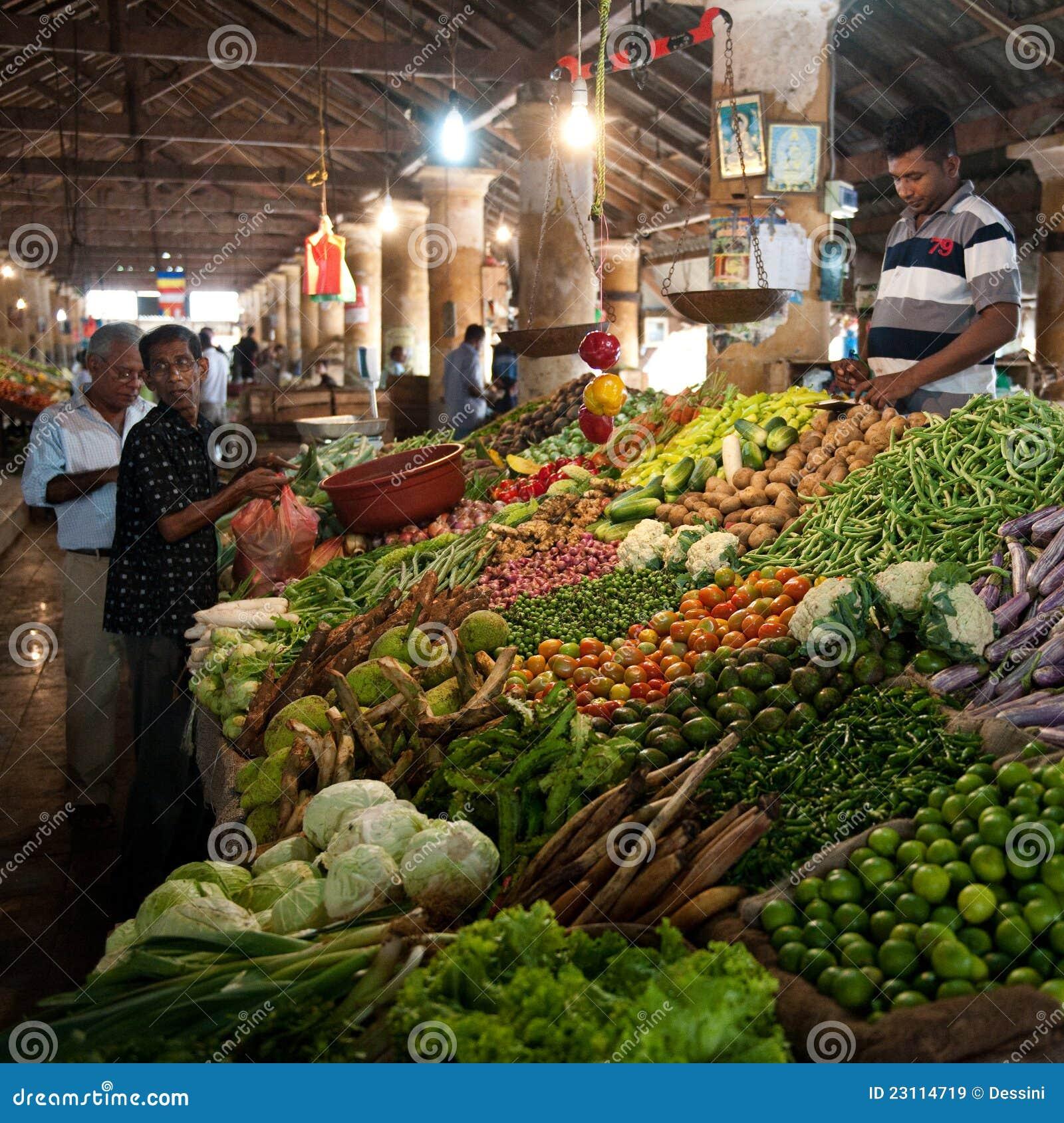 Market Place Galle Sri Lanka Editorial Stock Image Image