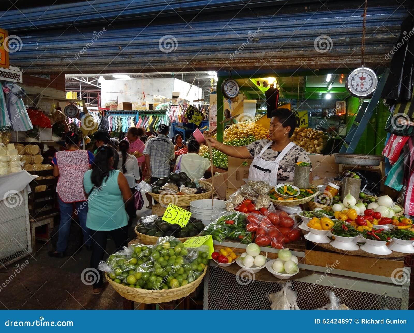 Market Place in Guerrero Mexico
