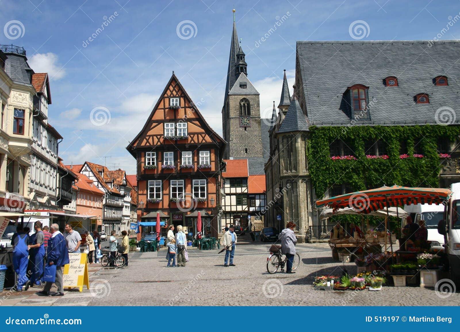 Market place Quedlinburg