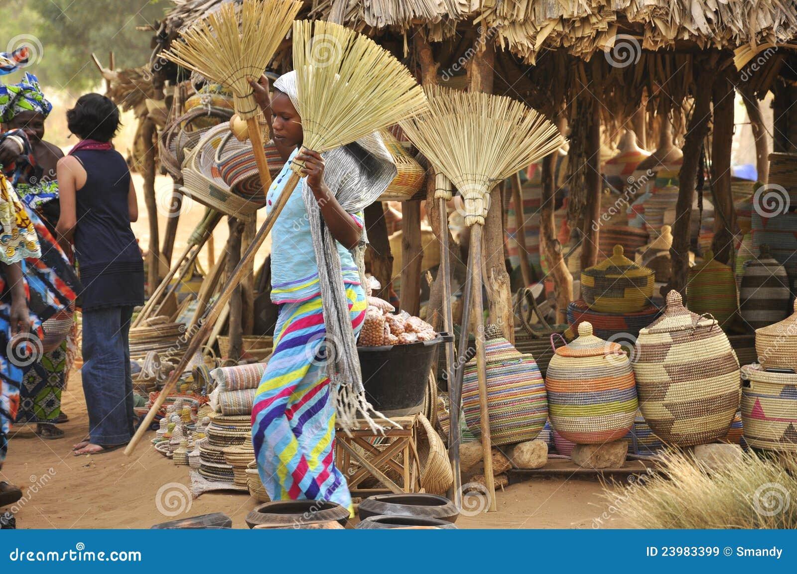 Market senegal kvinnor