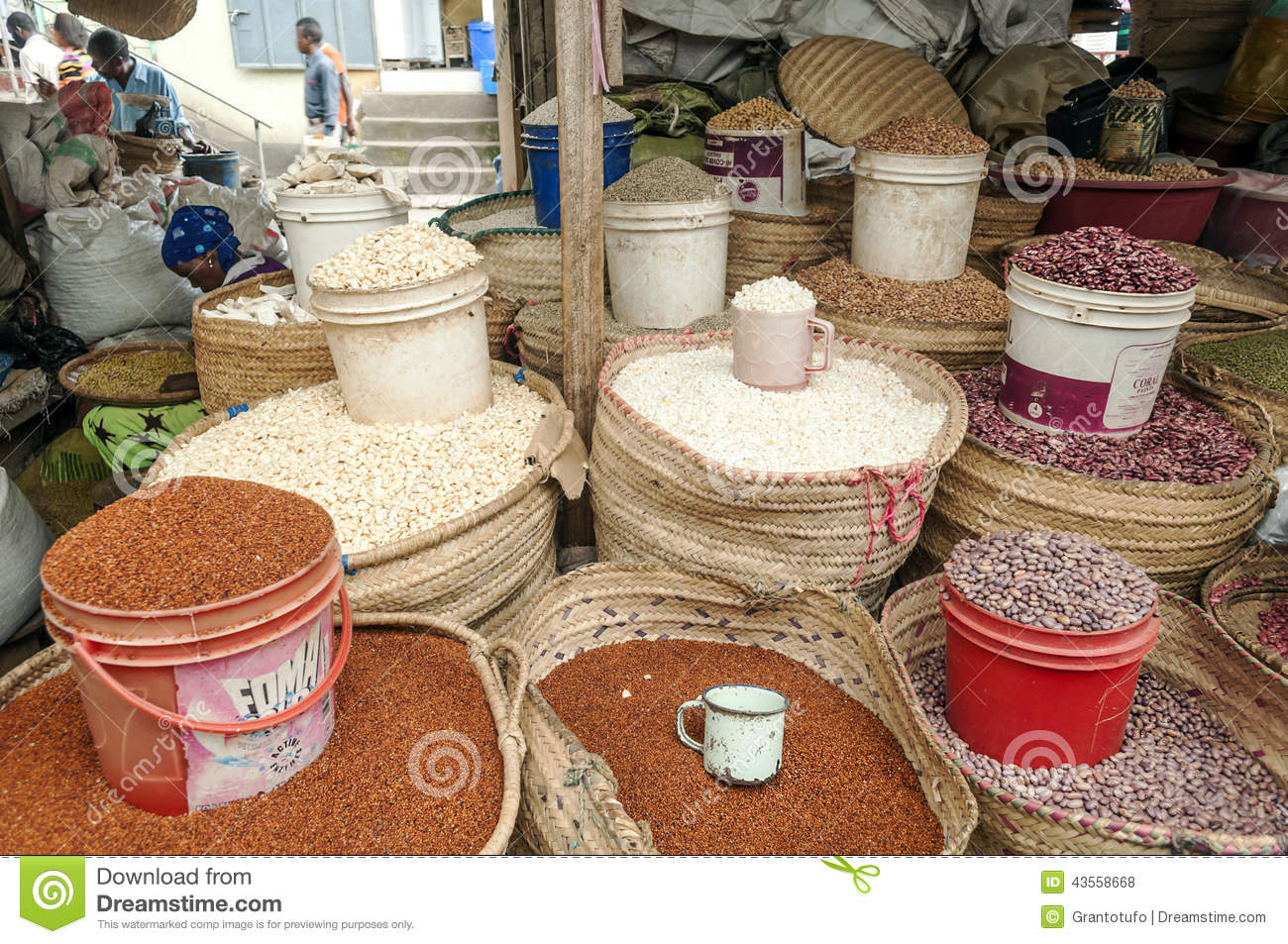 Market Stall in Arusha