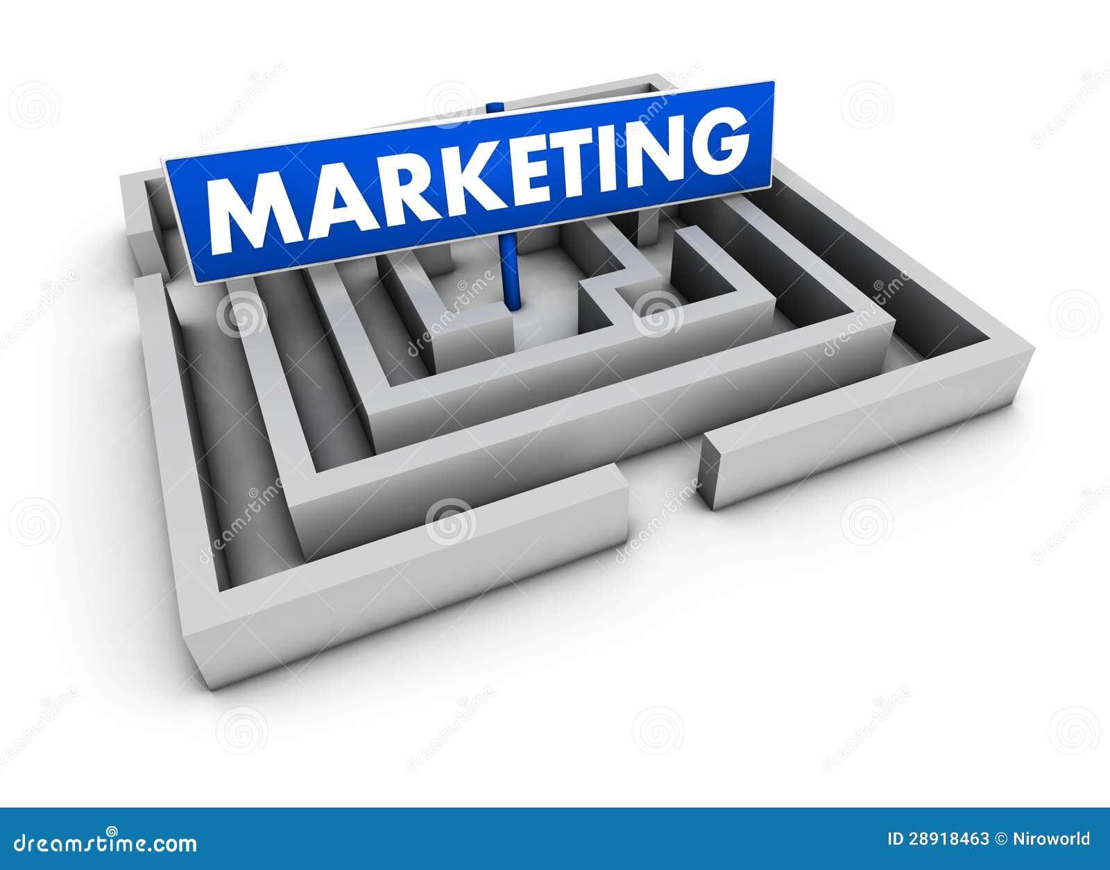 Marketing Business Concept Stock Illustration