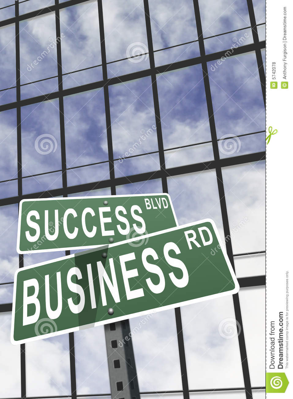 Marketing Business Concept Stock Photo  Image Of Arrow