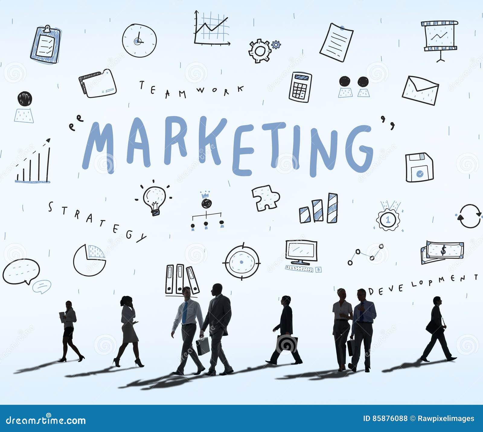 marketing business corporation progress concept stock photo