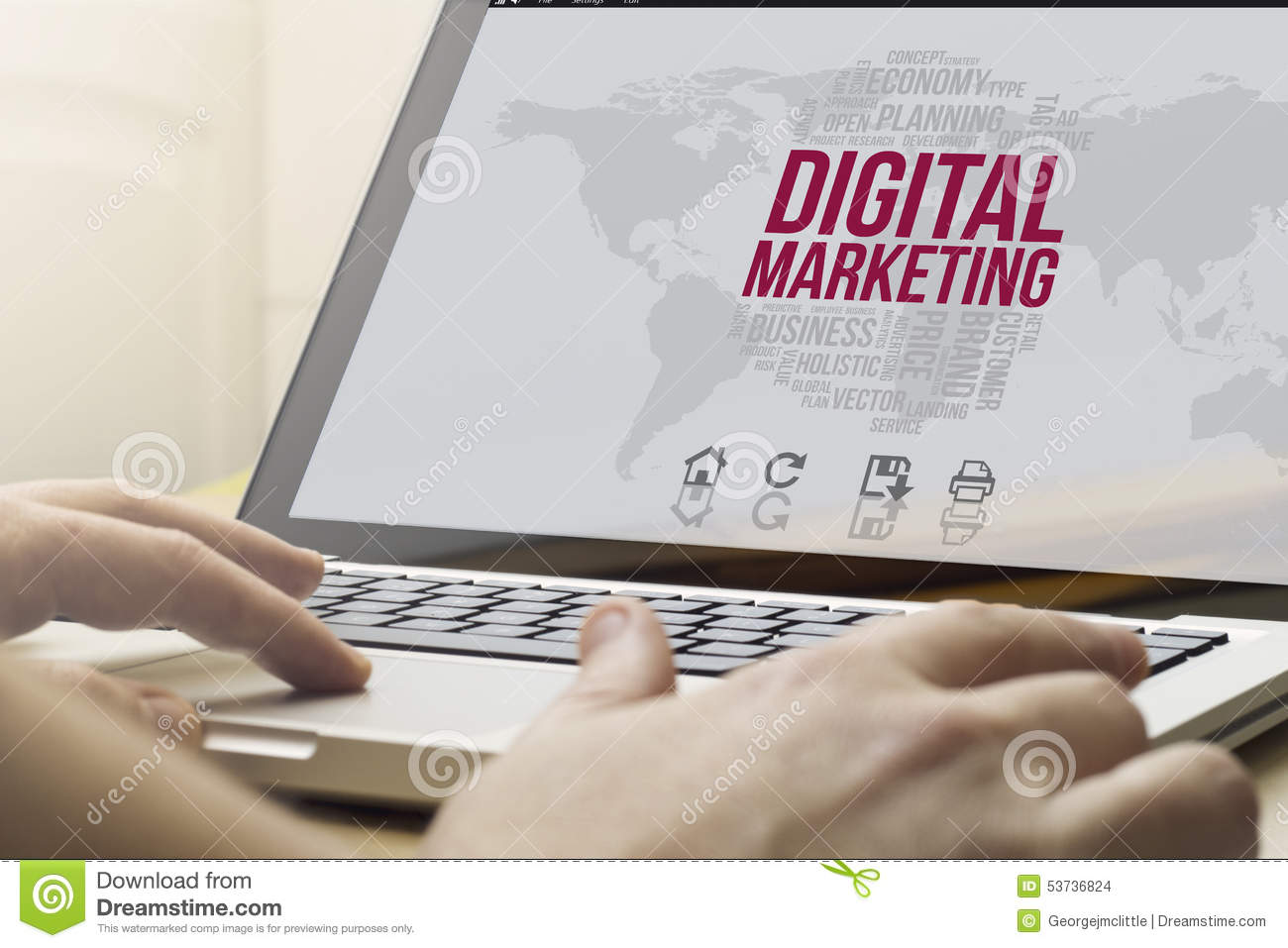 The application of computer in marketing