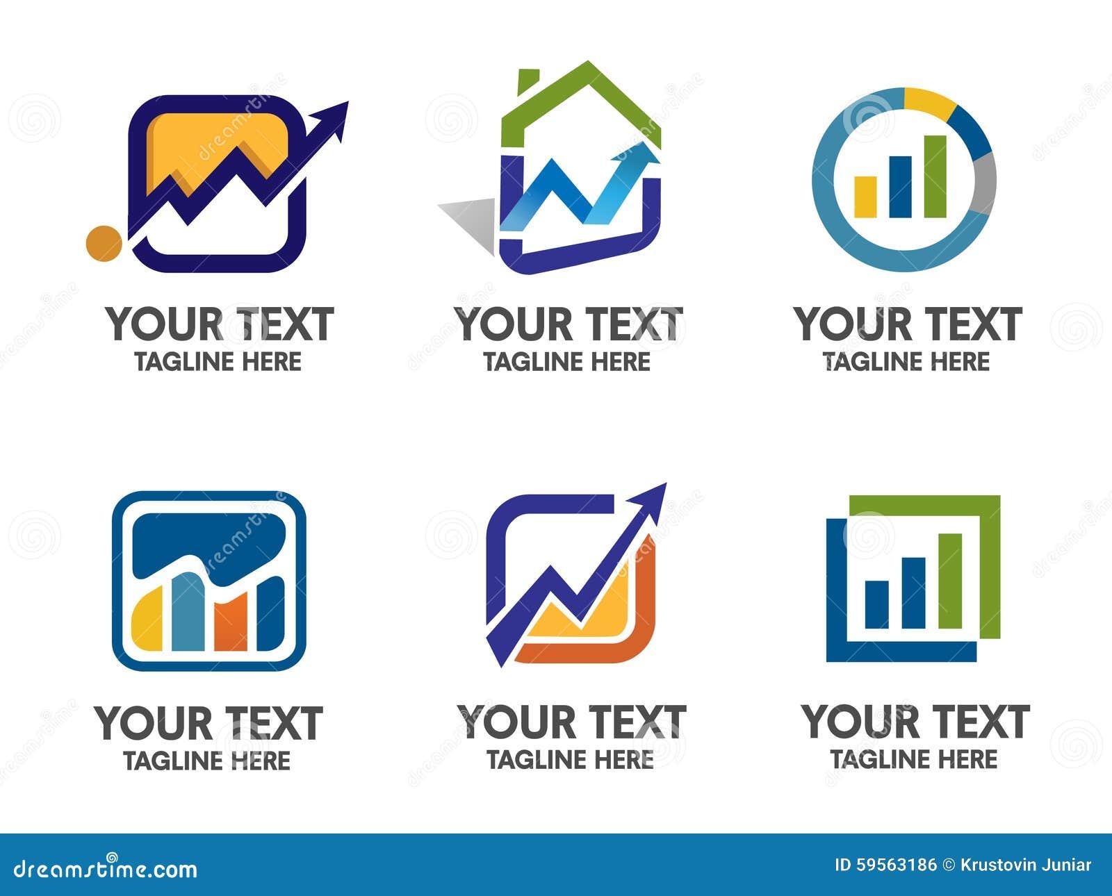 Marketing And Finance Logo Vector Stock Image