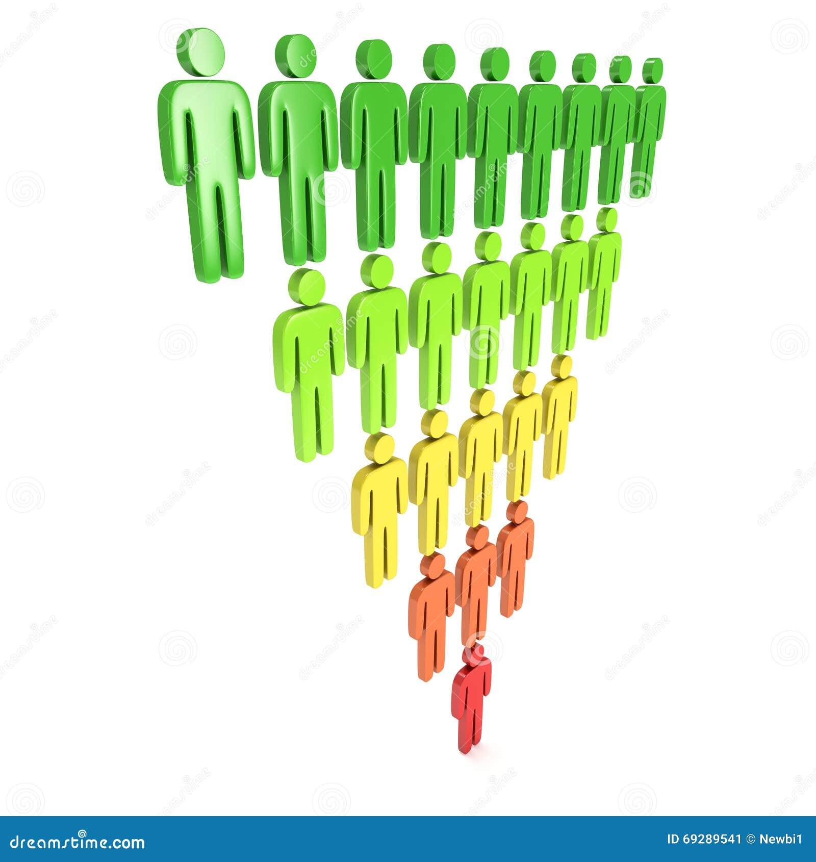 Marketing Sales: Marketing Funnel Sales Stock Illustration. Image Of