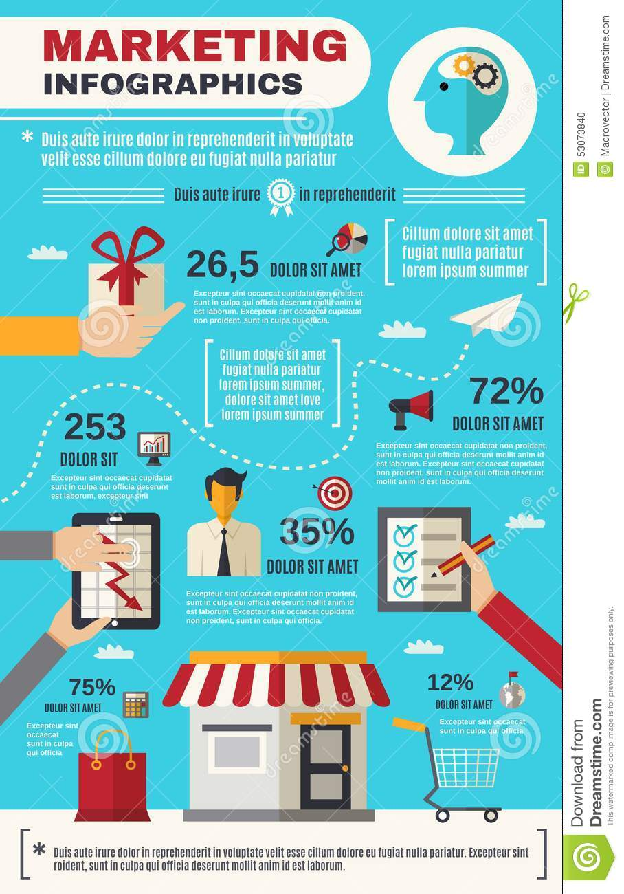 Z Chart Statistics Marketing Infographics...
