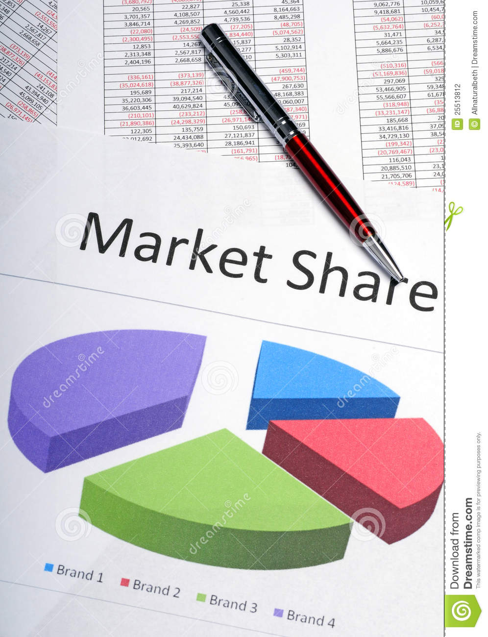 Marketing pie chart showing market share stock photo image of marketing pie chart showing market share nvjuhfo Image collections