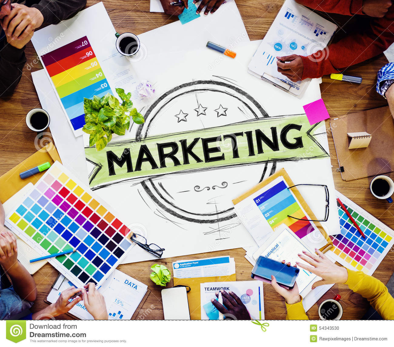 Marketing Strategy Branding Commercial Advertisement Plan Concep