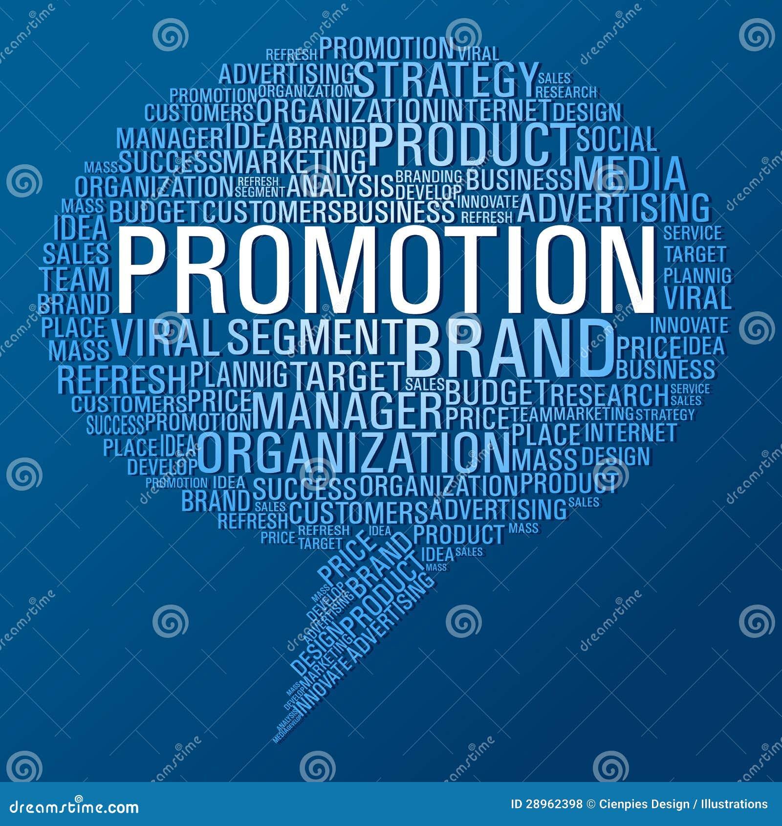 Marketingowy promocyjny mowa bąbel