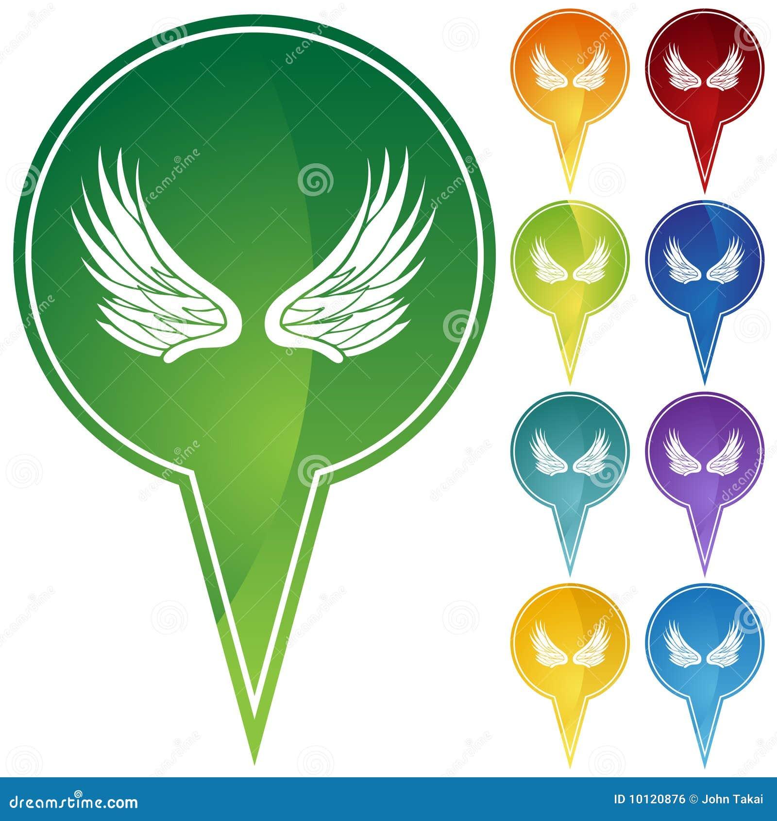 Markier wskazuje skrzydła