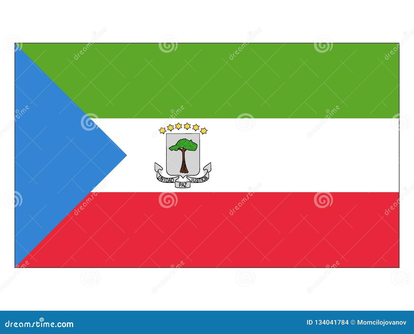 Markierungsfahne der Äquatorialguinea