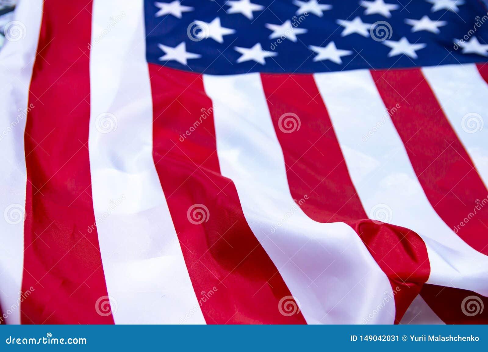 Markierungsfahne der Staaten von Amerika