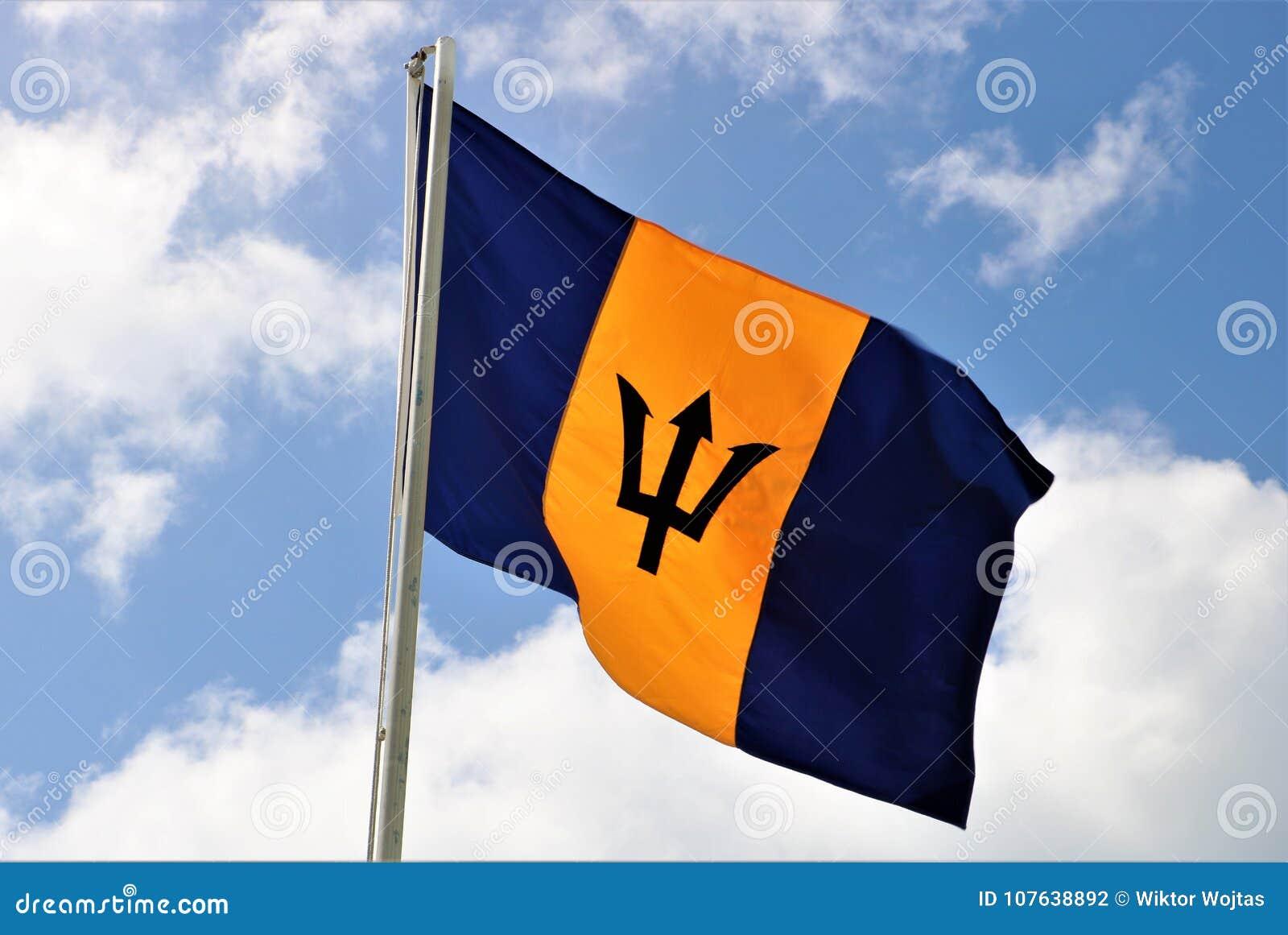 Markierungsfahne von Barbados