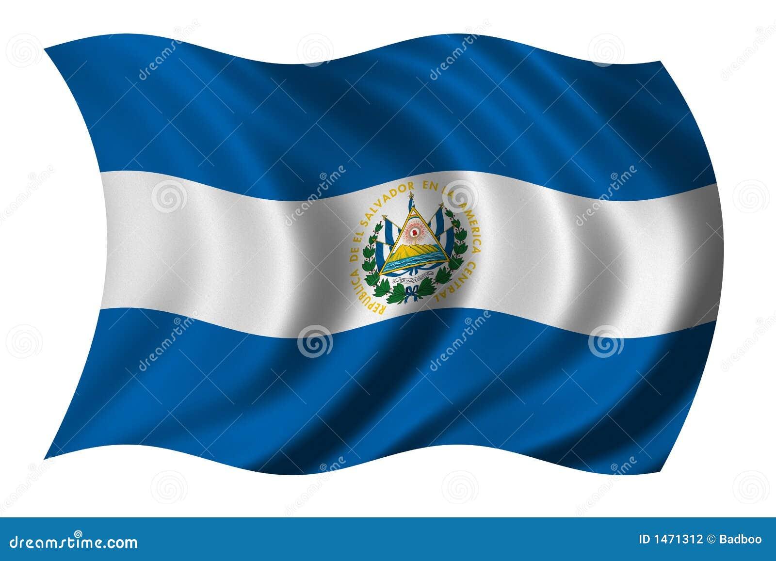 Markierungsfahne von El Salvador