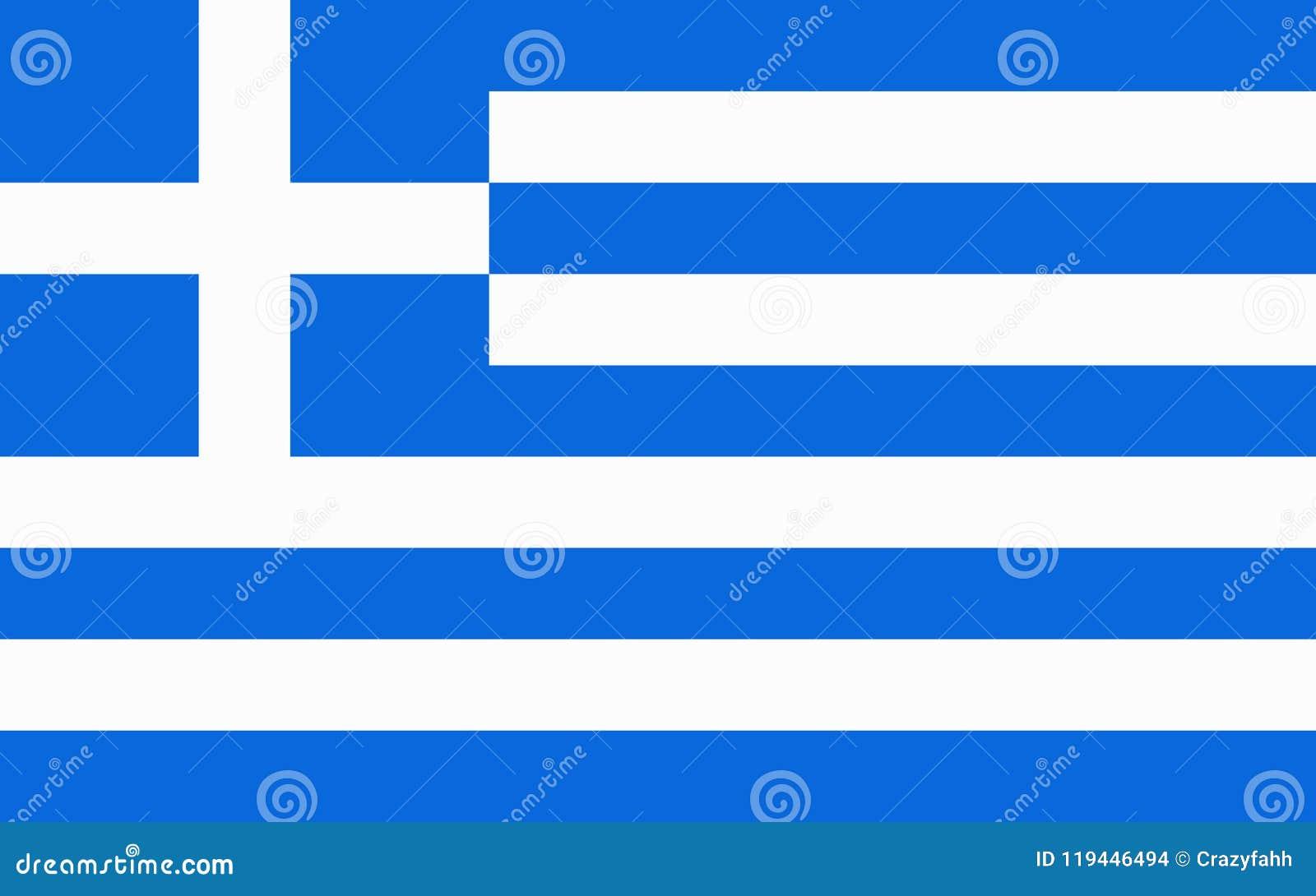 Markierungsfahne von Griechenland