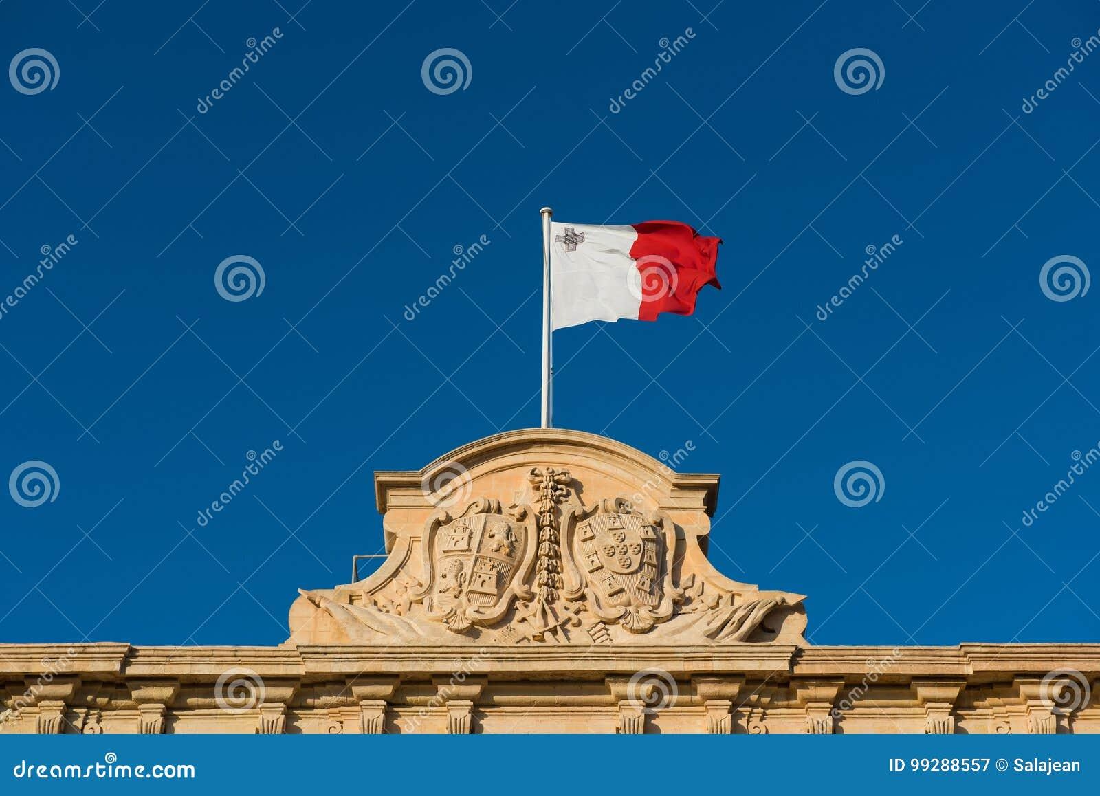 Markierungsfahne von Malta