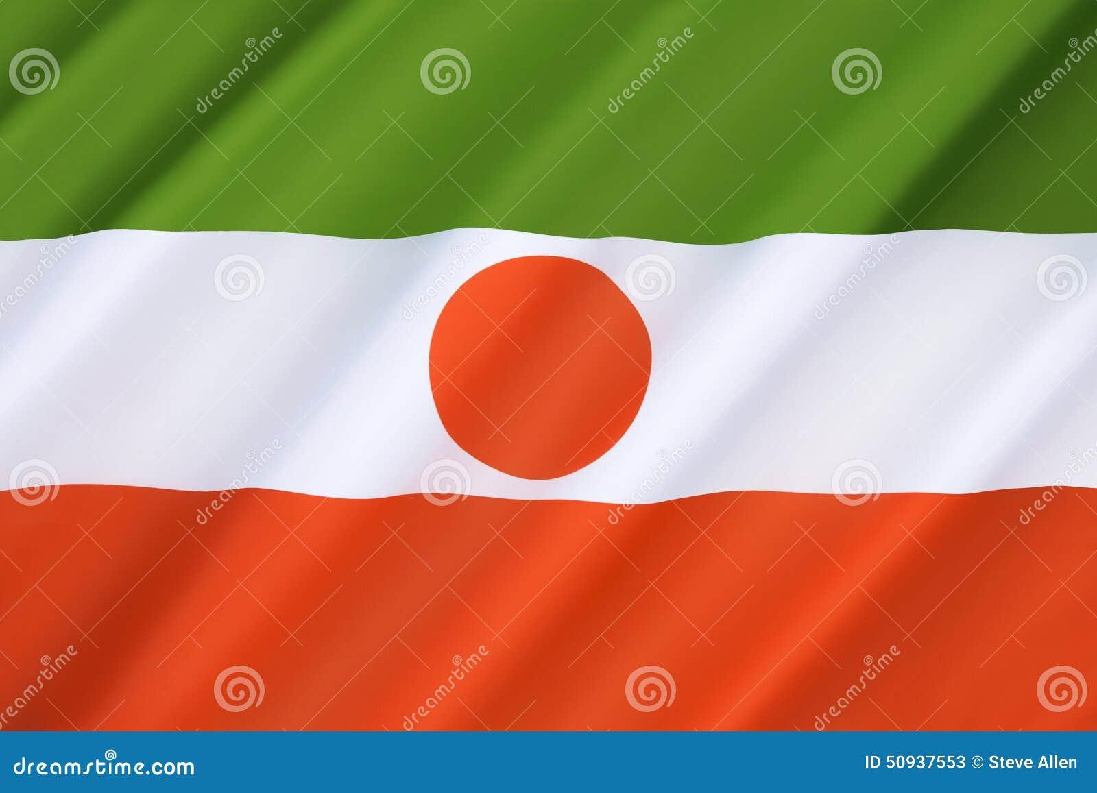 Markierungsfahne von Niger