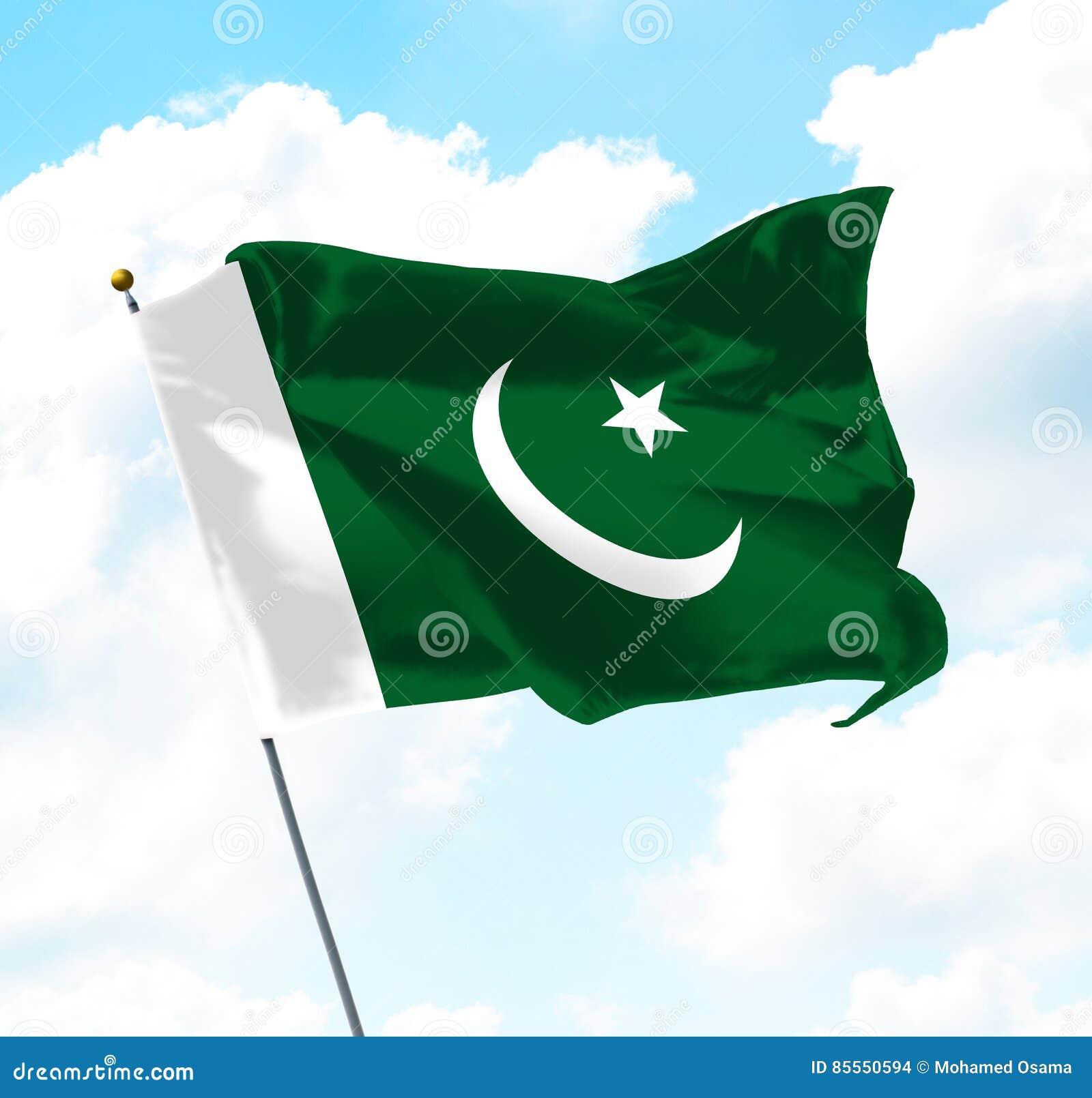 Markierungsfahne von Pakistan