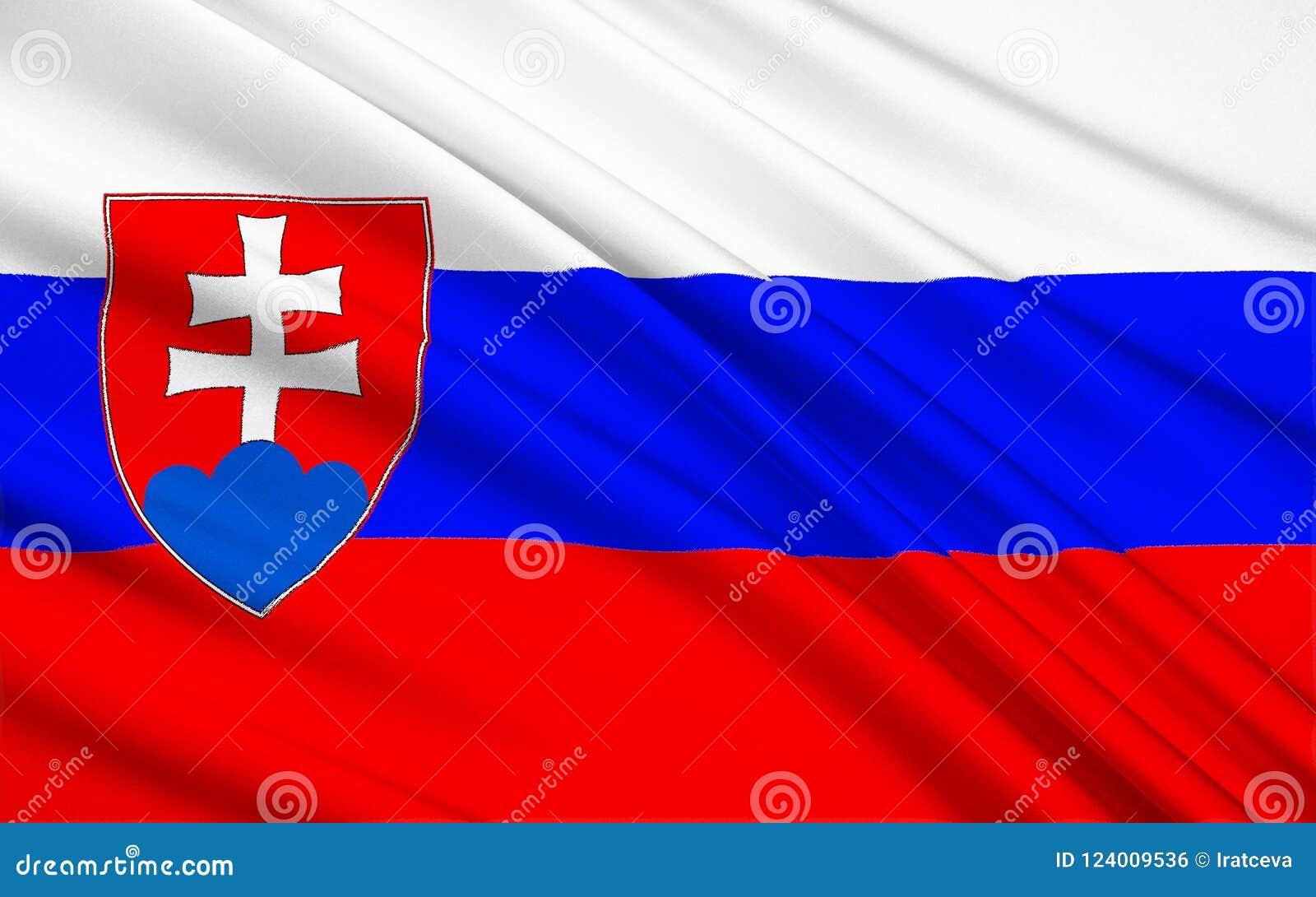 Markierungsfahne von Slowakei