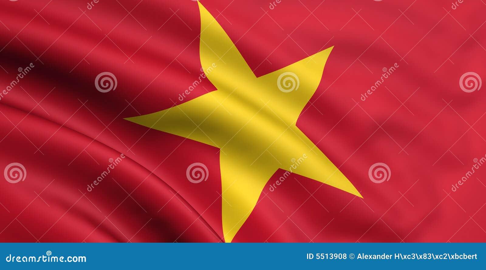 Markierungsfahne von Vietnam