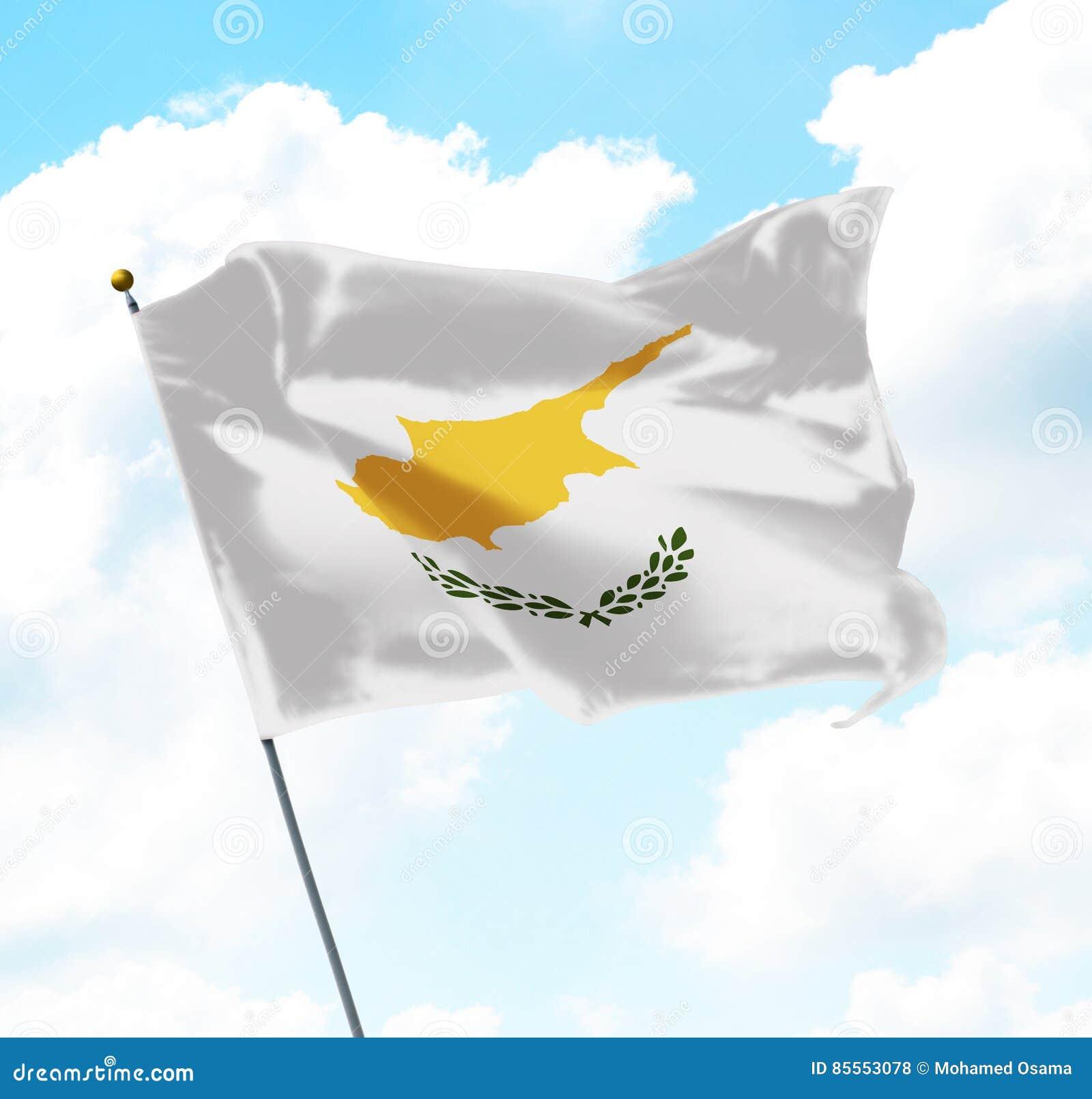 Markierungsfahne von Zypern