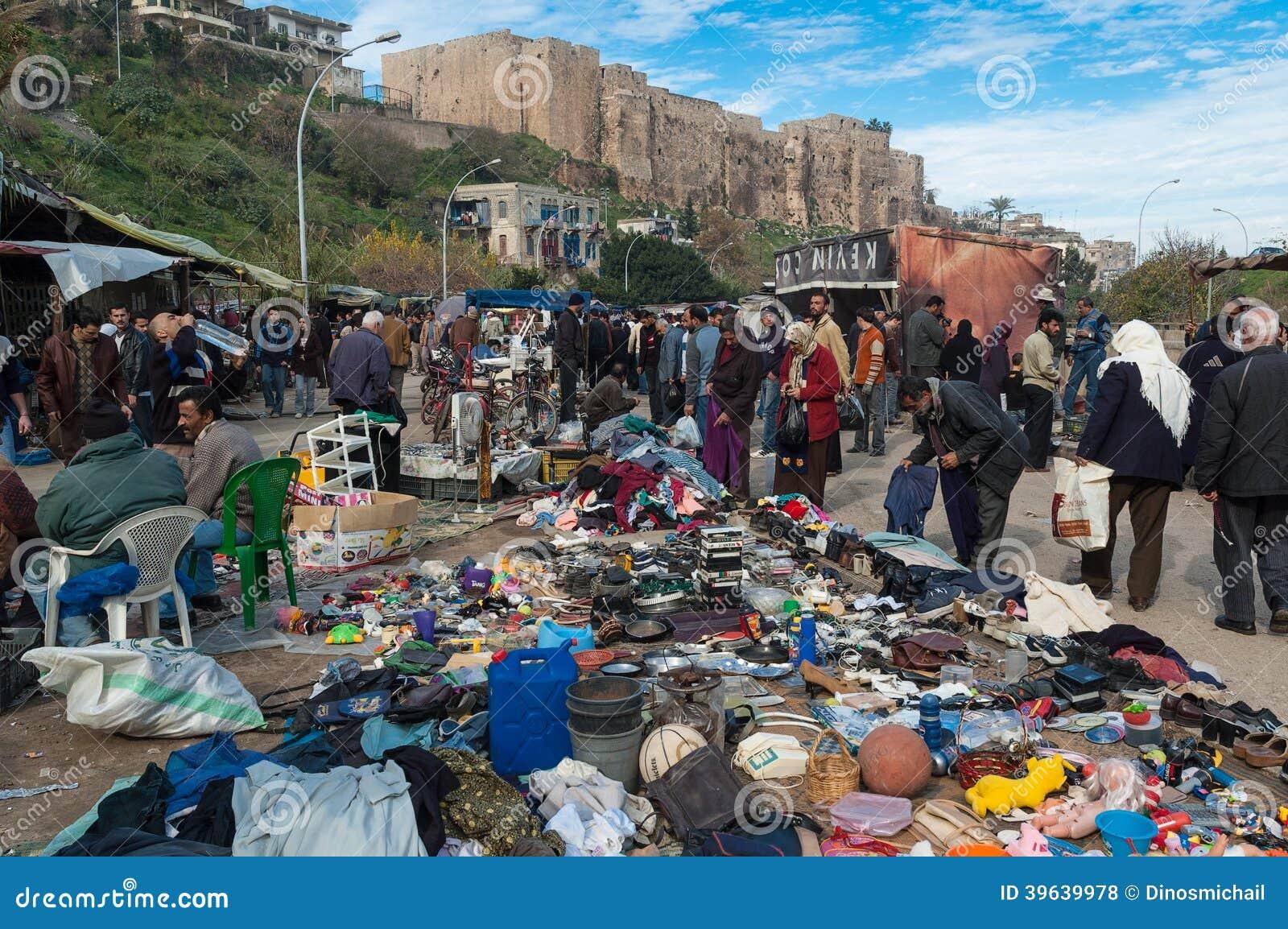 Marknad i Libanon