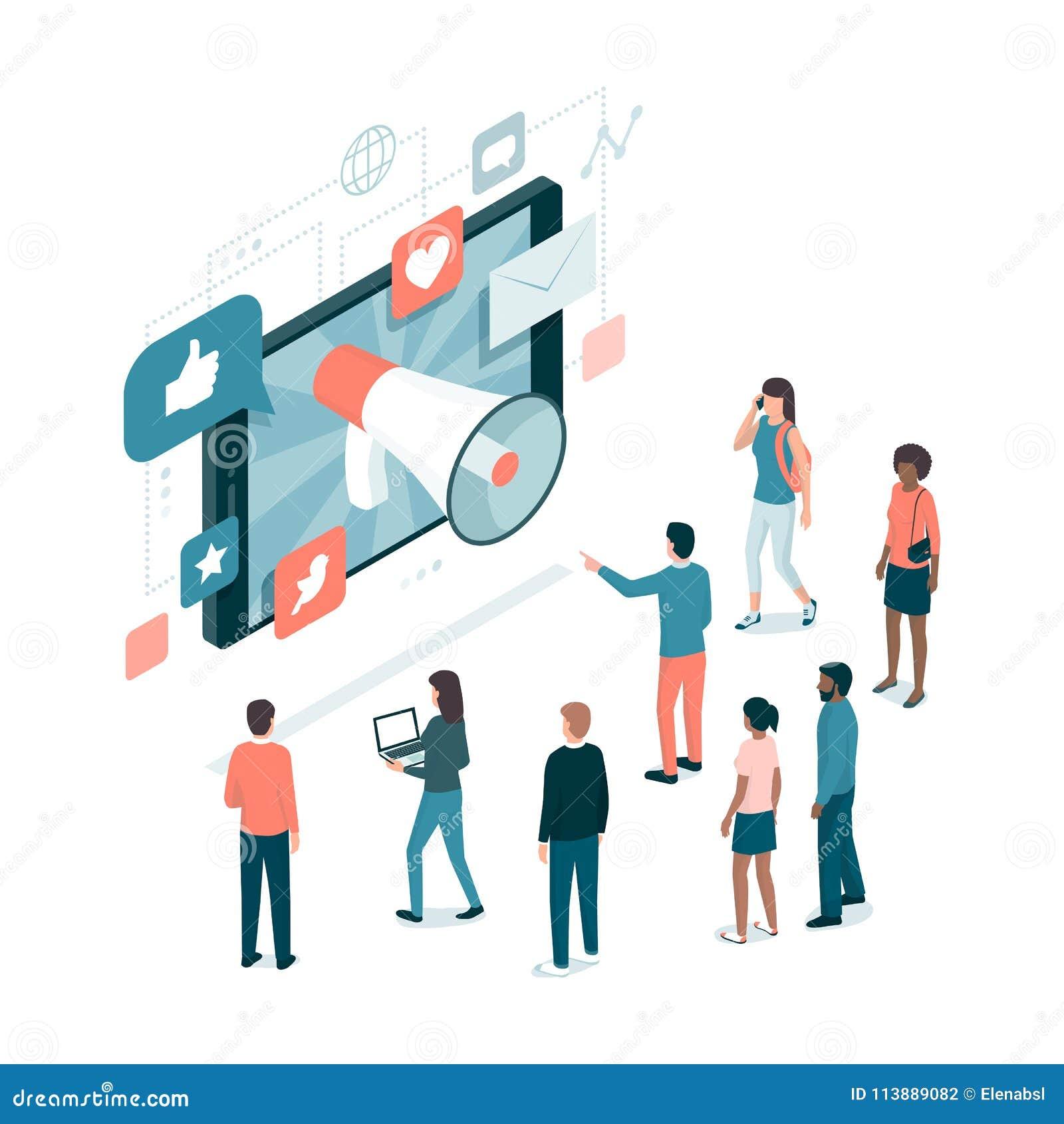 Marknadsförings- och samkvämmassmedia