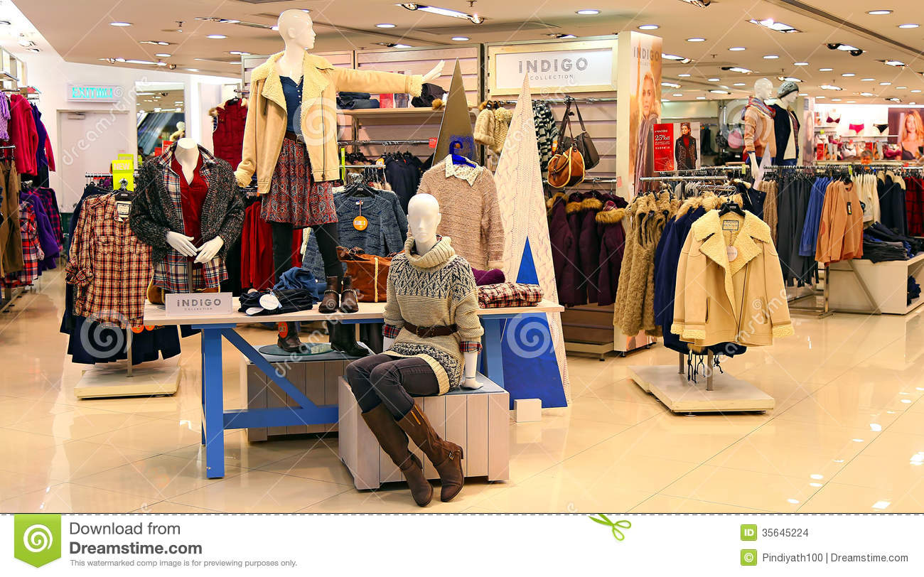 Marks Spencer Hong Kong Editorial Stock Image Image Of Display