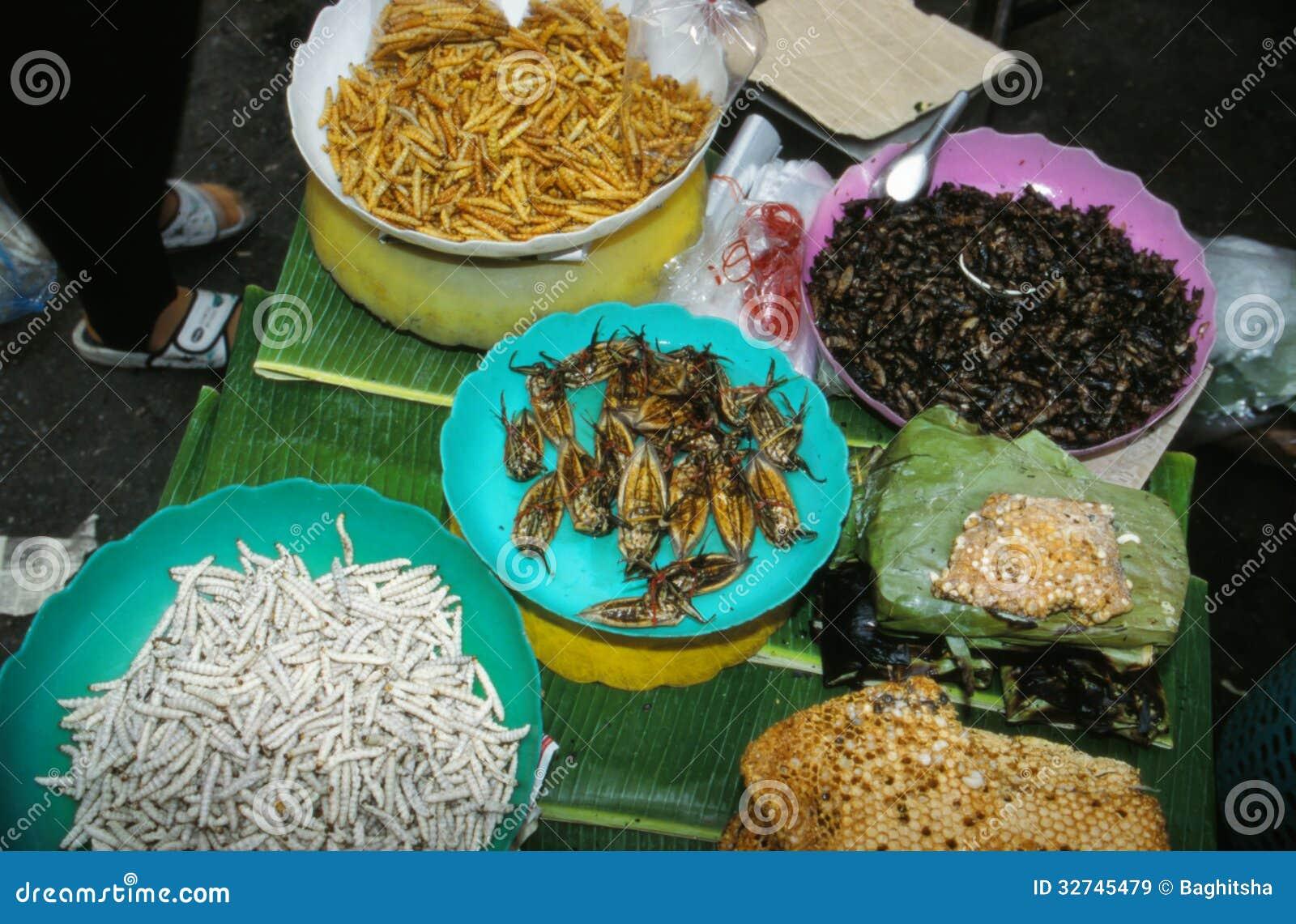 Markt in Thailand.