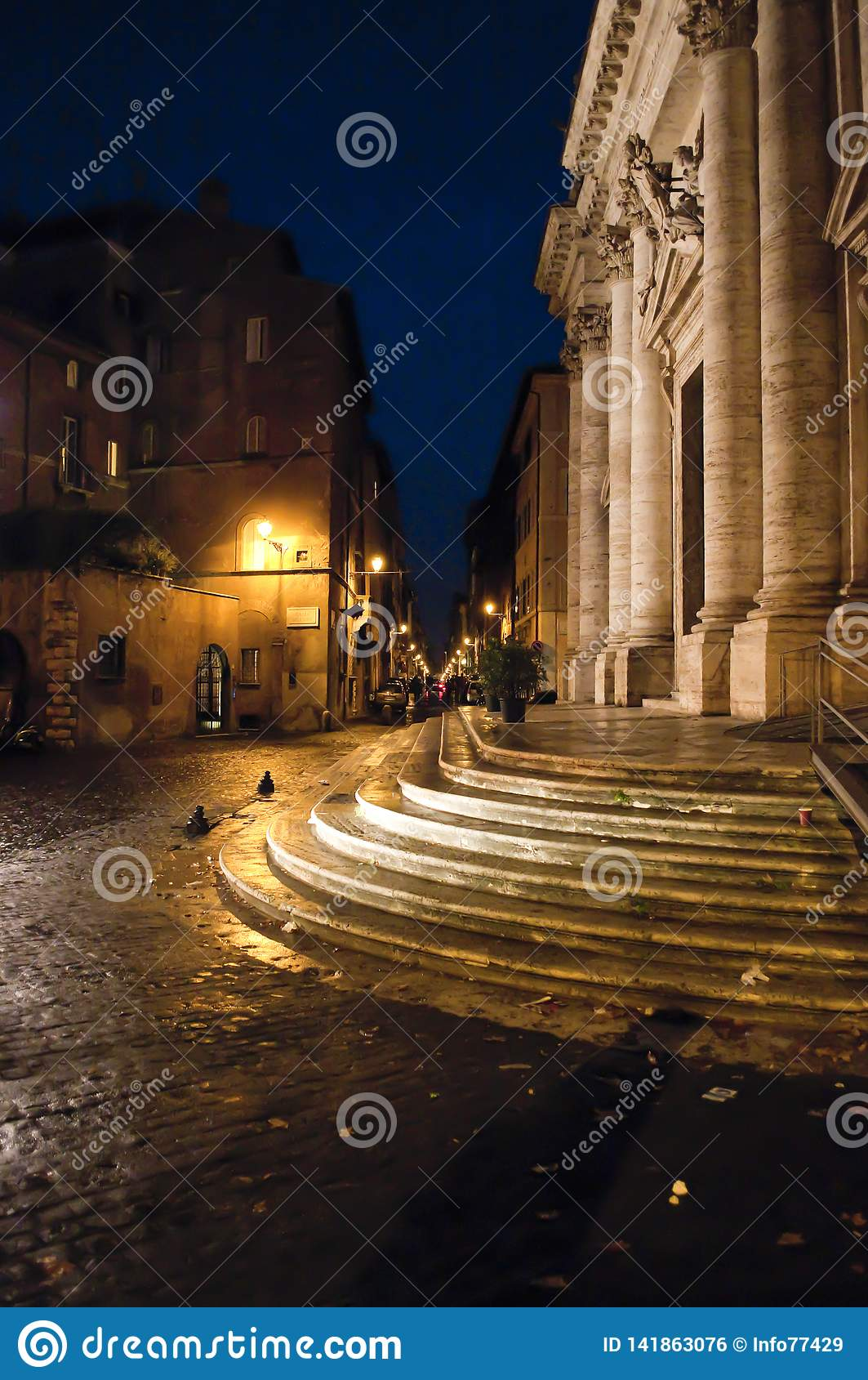 Marktplatzenges tal Oro, Rom, Italien