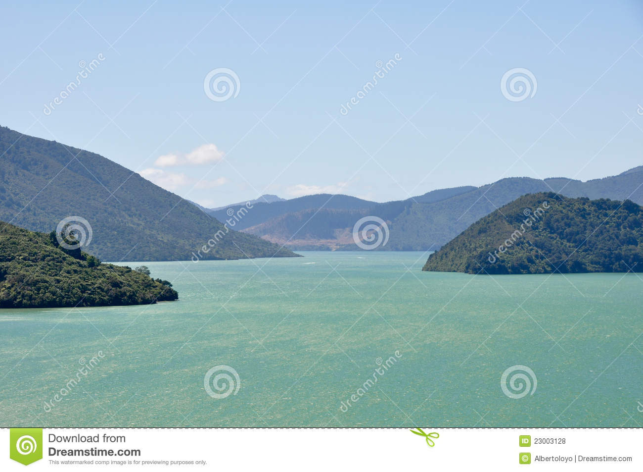 Marlborough Sounds New Zealand  City new picture : Marlborough Sounds, New Zealand Royalty Free Stock Photos Image ...