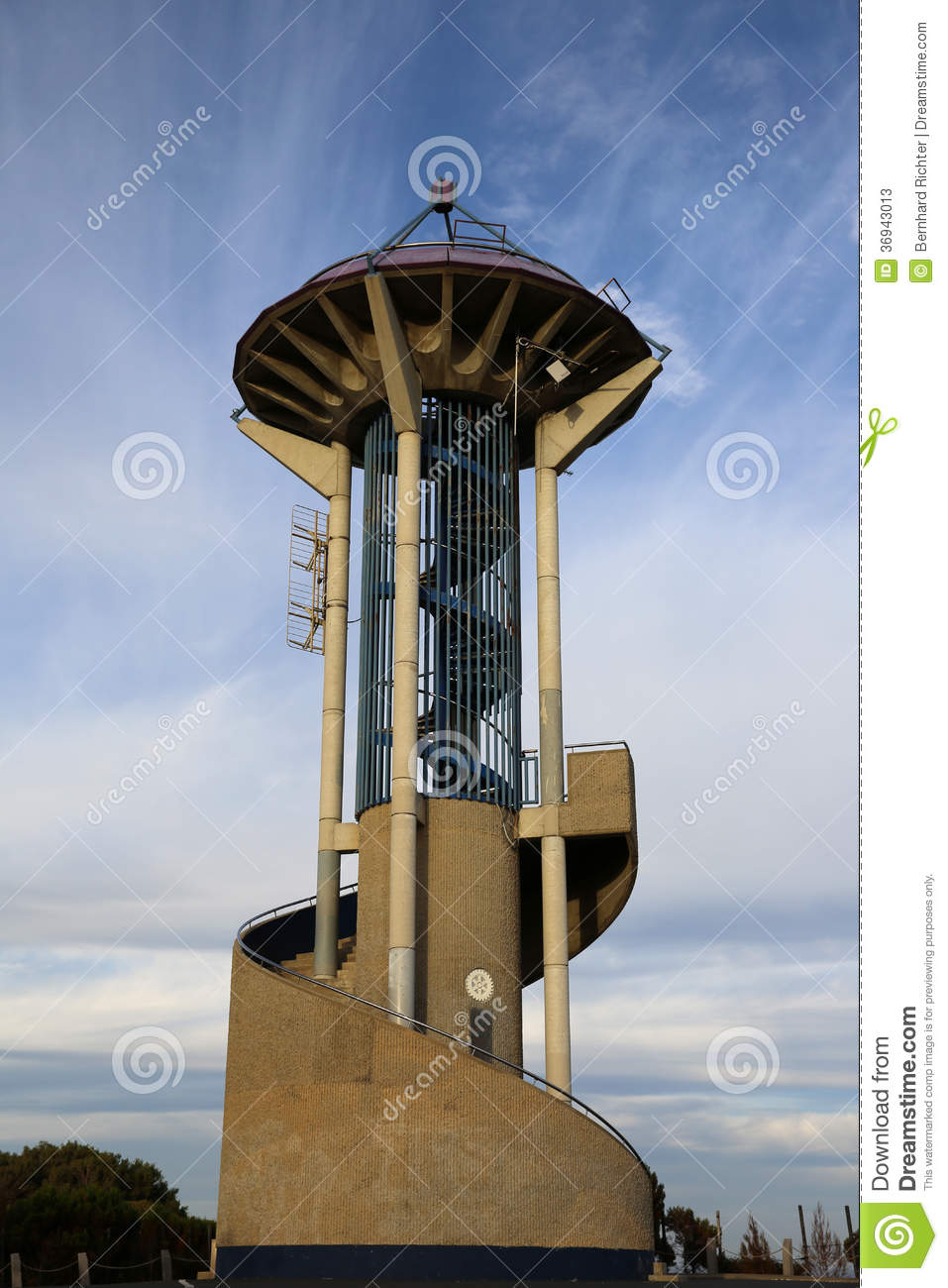 Marlston Hill Lookout Tower Stock Image Image 36943013