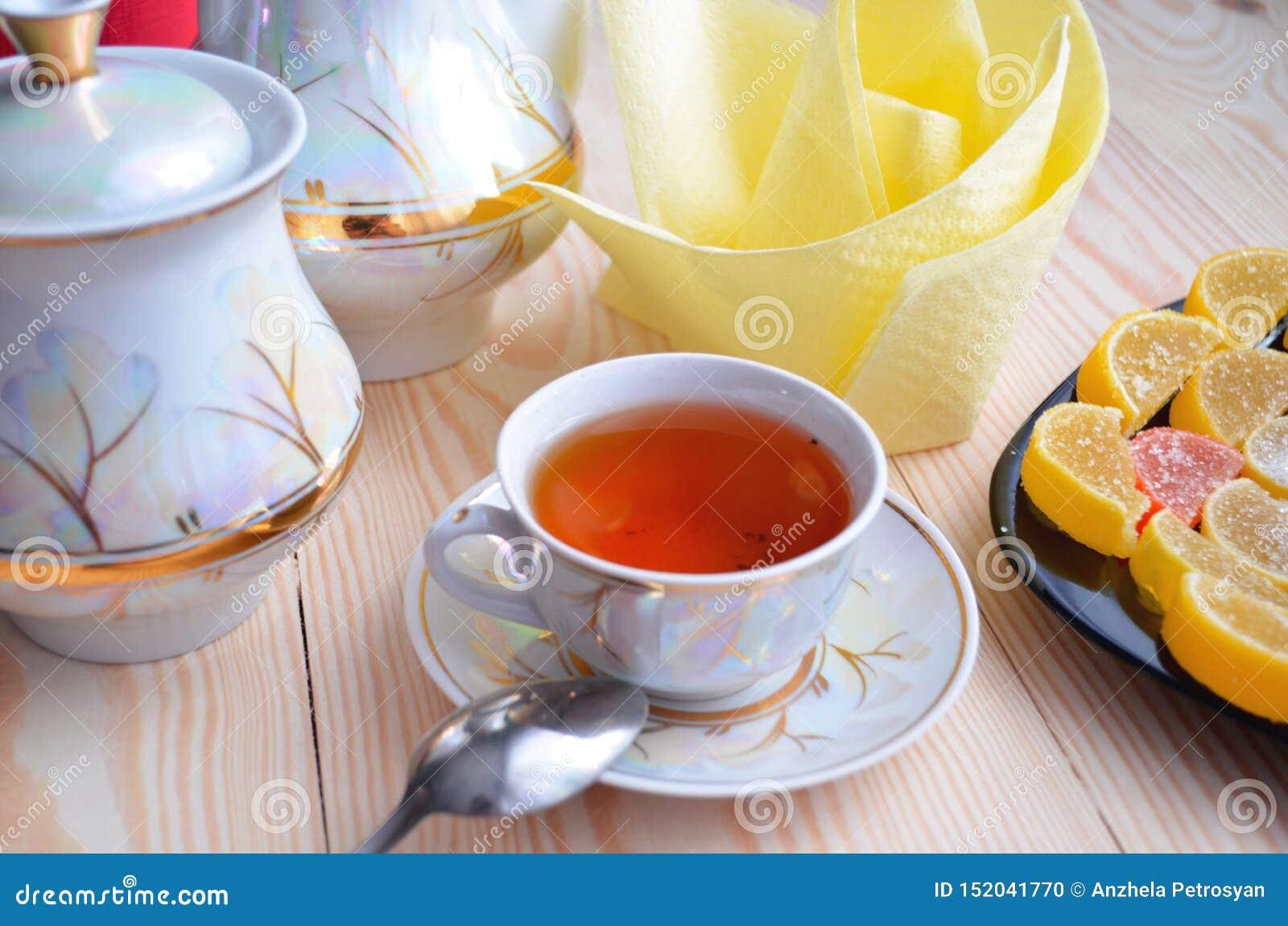 Marmelad och te