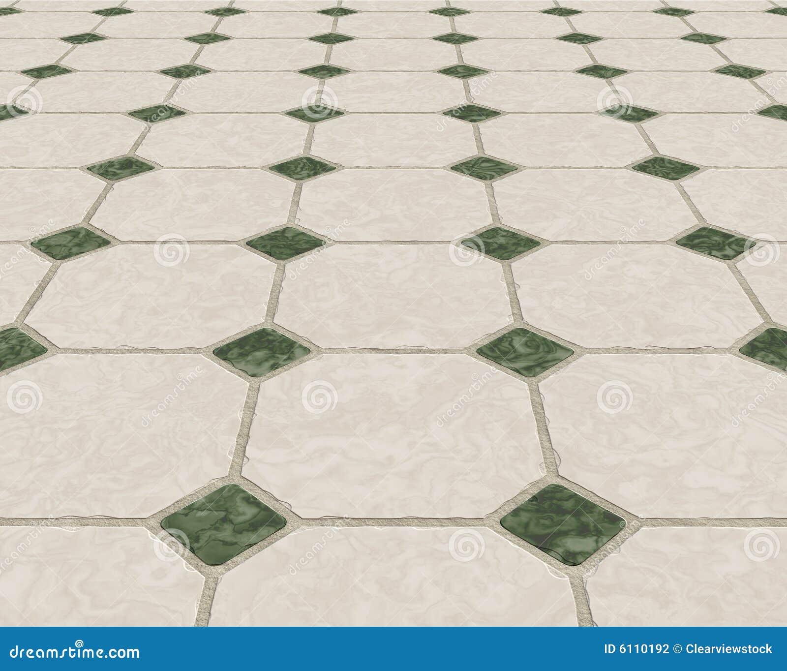 Marmer betegelde vloer vector illustratie afbeelding bestaande uit keramiek 6110192 - Moderne betegelde vloer ...