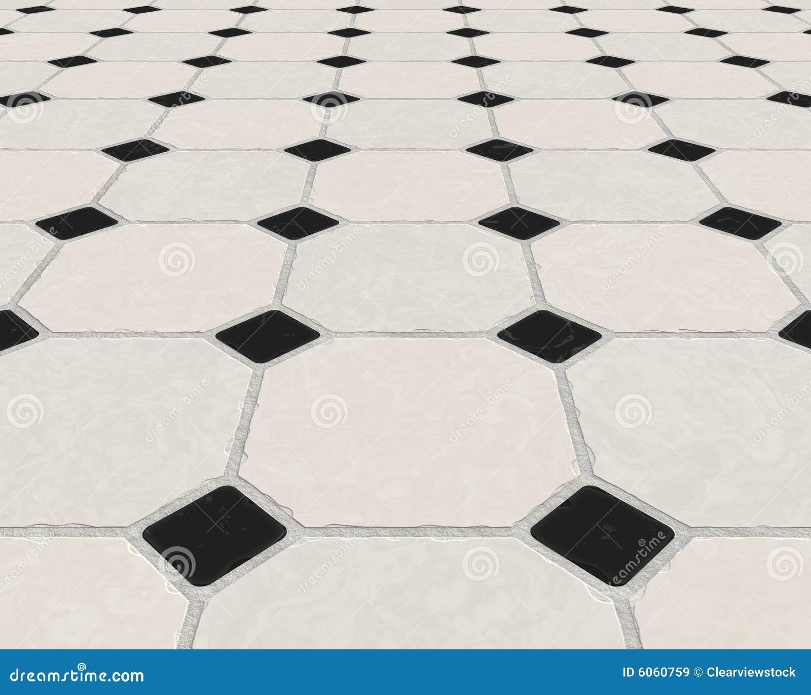 Marmeren betegelde vloer royalty vrije stock afbeeldingen afbeelding 6060759 - Betegelde vloer badkamer ...