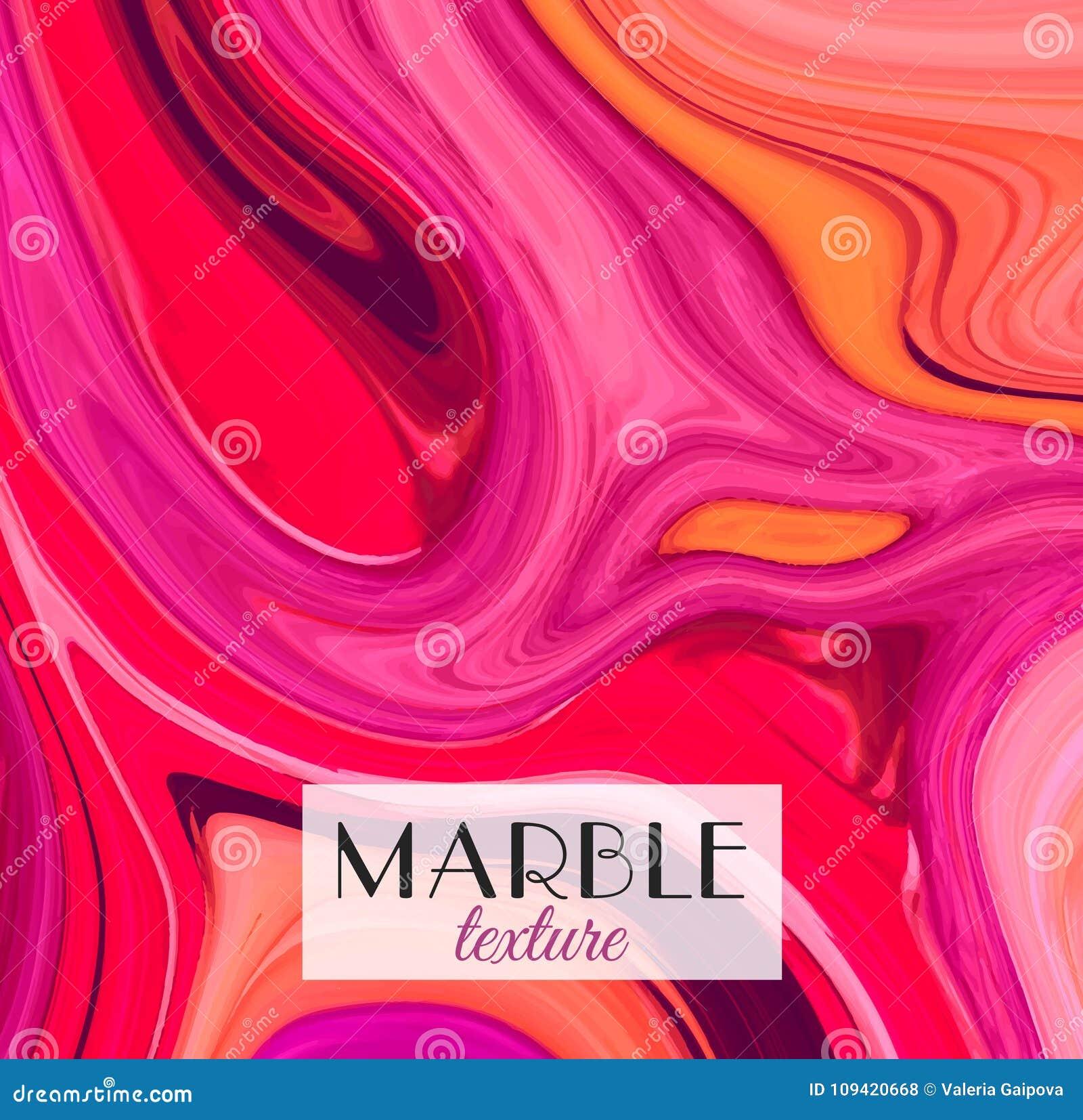 Marmering Marmeren textuur Artistieke abstracte kleurrijke achtergrond Plons van verf Kleurrijke vloeistof Heldere kleuren