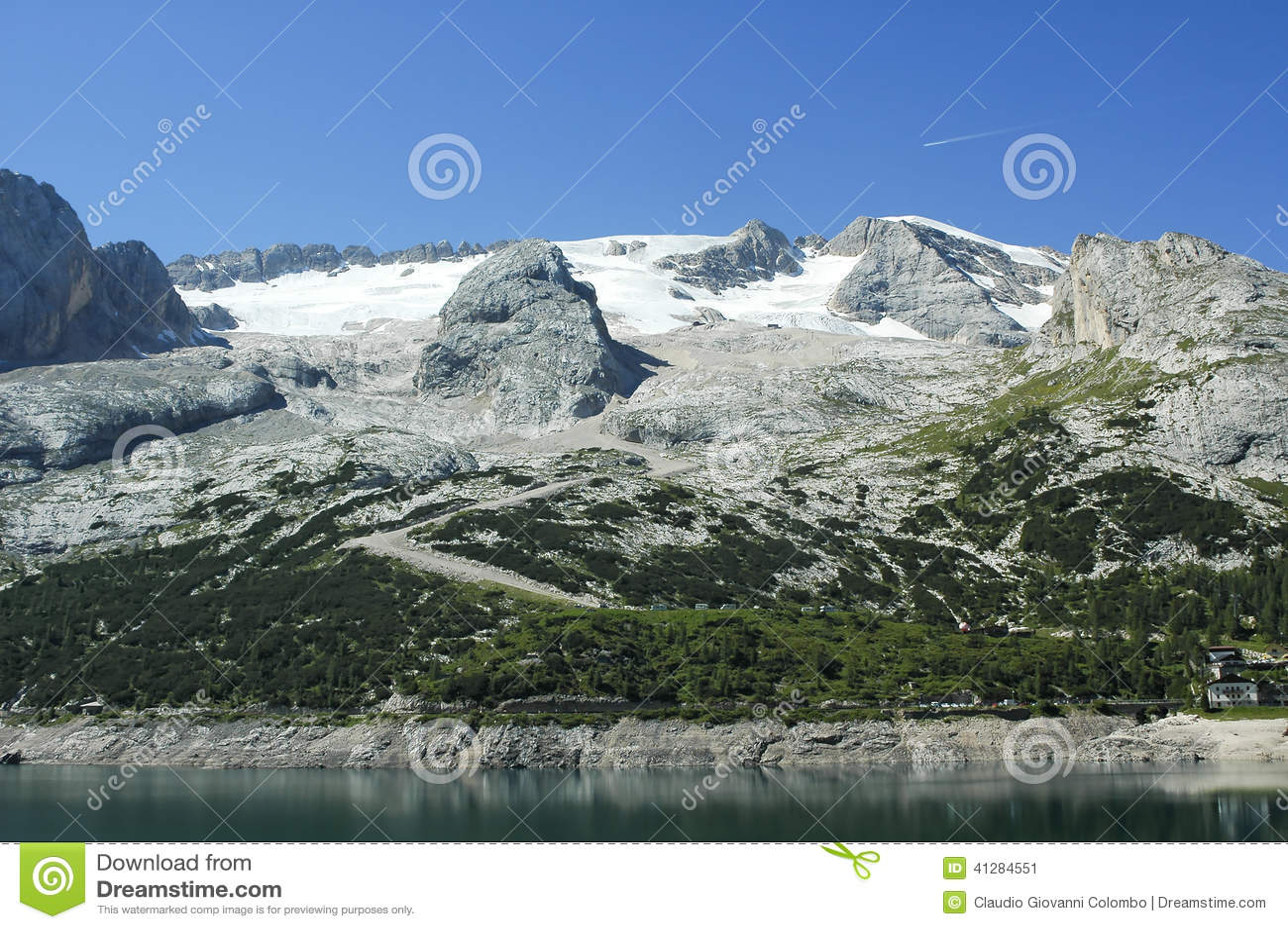 Marmolada, Dolomiet