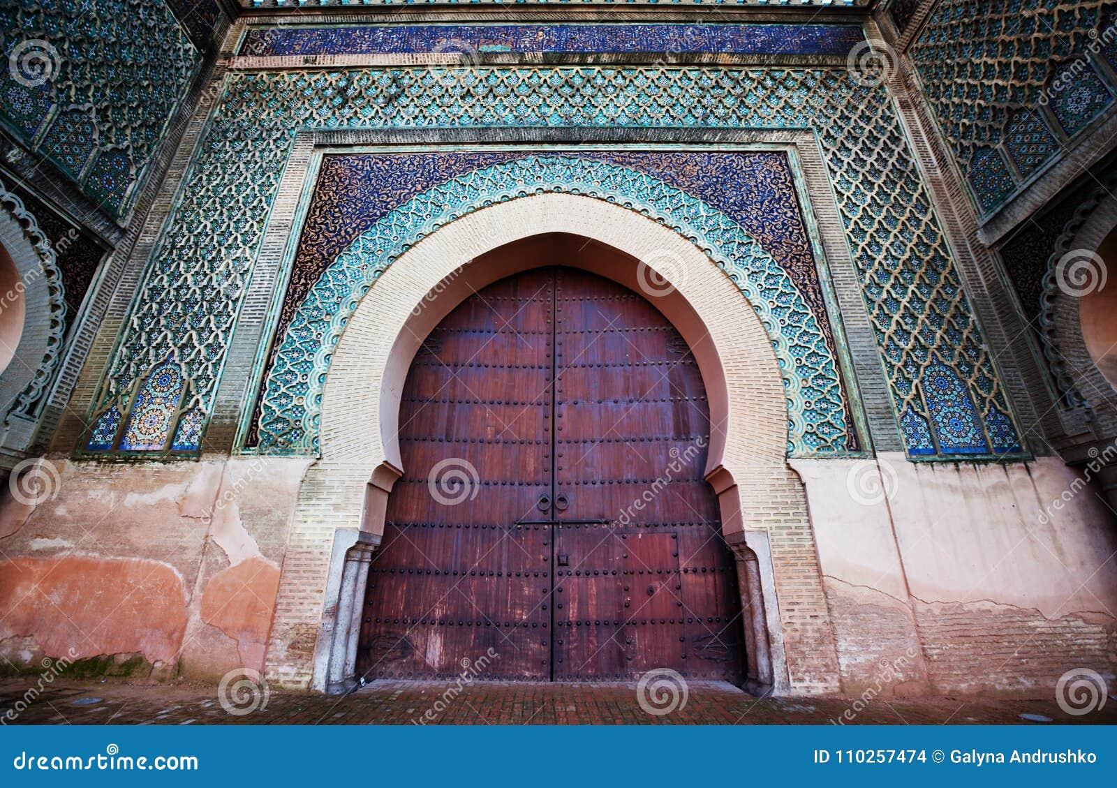 Marockansk Dekor Arkivfoto Bild Av Medf8ort Snida 110257474