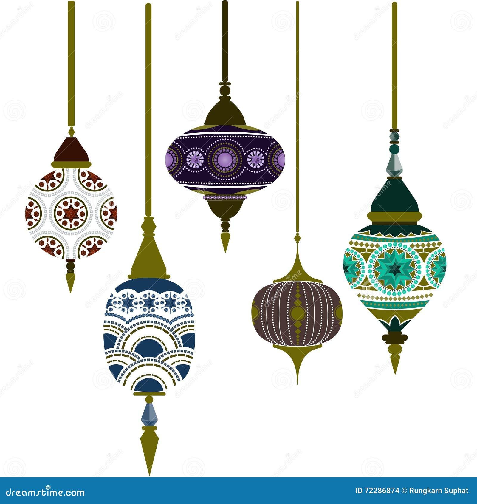 Marocko lampor