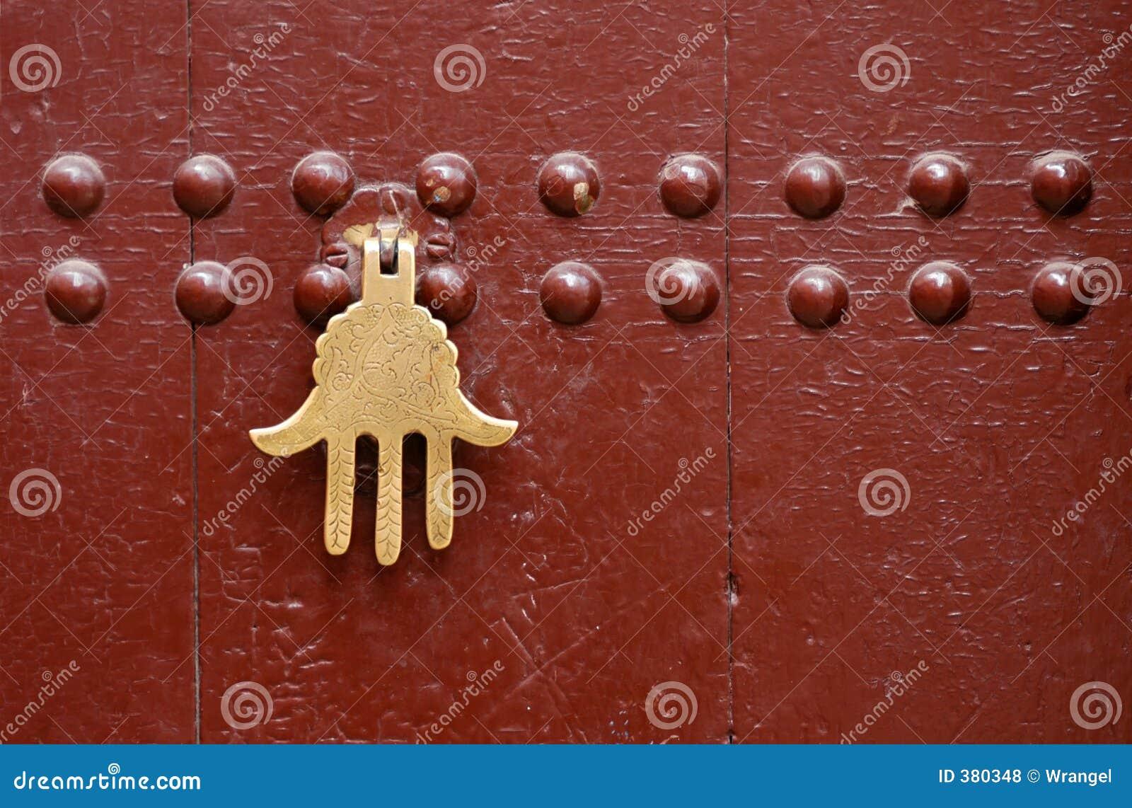 Marokański drzwi